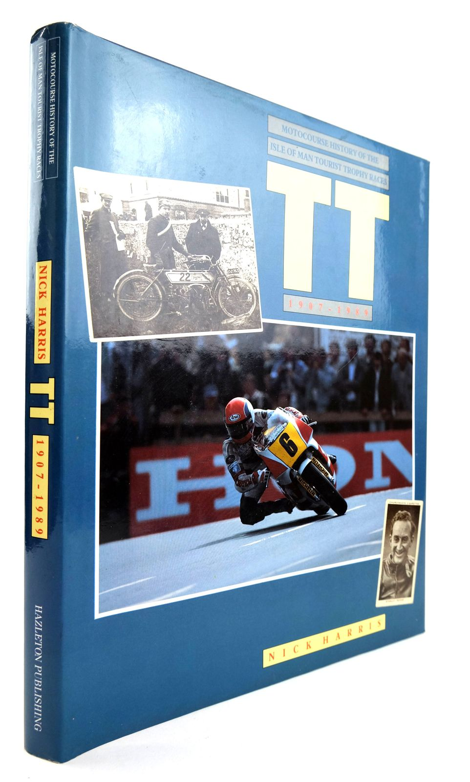 Photo of MOTOCOURSE HISTORY OF THE ISLE OF MAN TOURIST TROPHY RACES 1907-1989- Stock Number: 1818845
