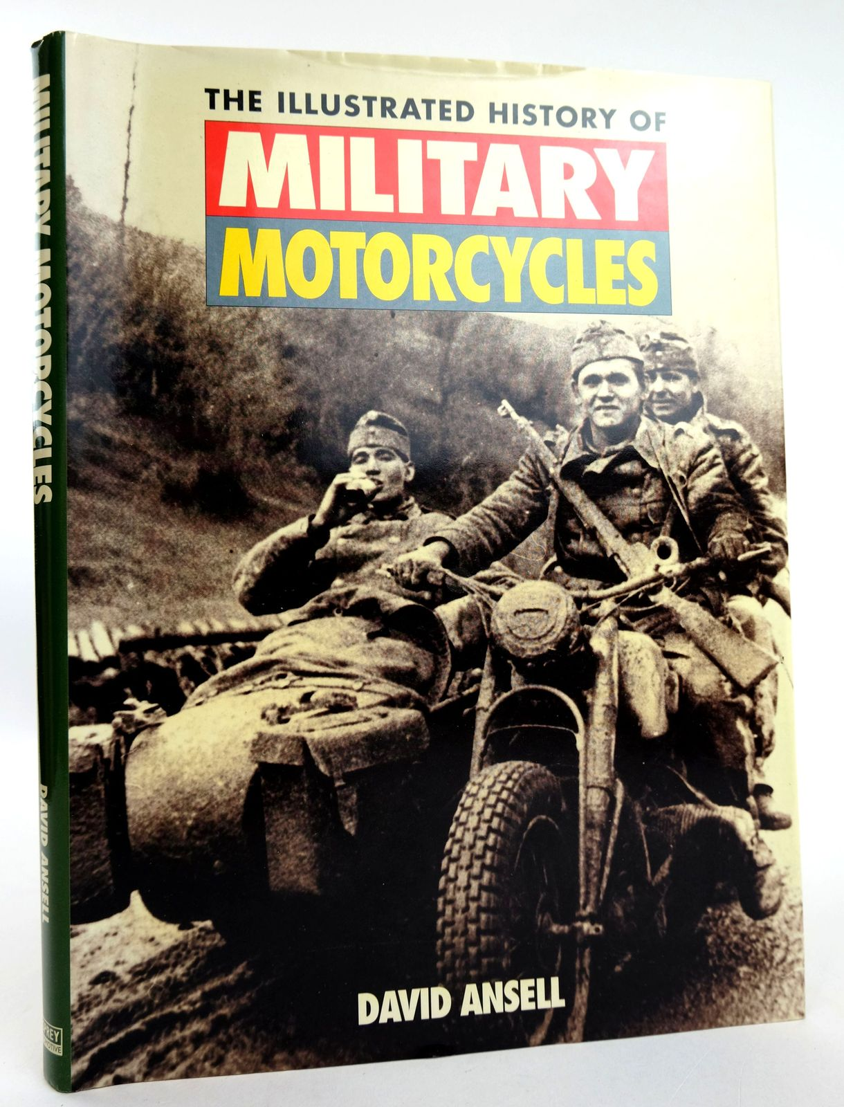 Photo of THE ILLUSTRATED HISTORY OF MILITARY MOTORCYCLES written by Ansell, David published by Osprey Automotive (STOCK CODE: 1818846)  for sale by Stella & Rose's Books