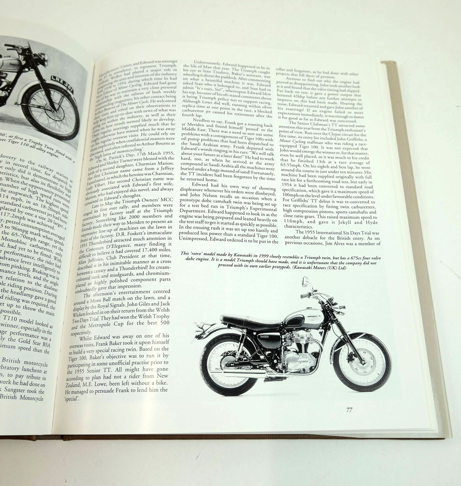 Photo of TURNER'S TRIUMPHS: EDWARD TURNER & HIS TRIUMPH MOTORCYCLES written by Clew, Jeff published by Veloce Publishing Plc. (STOCK CODE: 1818852)  for sale by Stella & Rose's Books