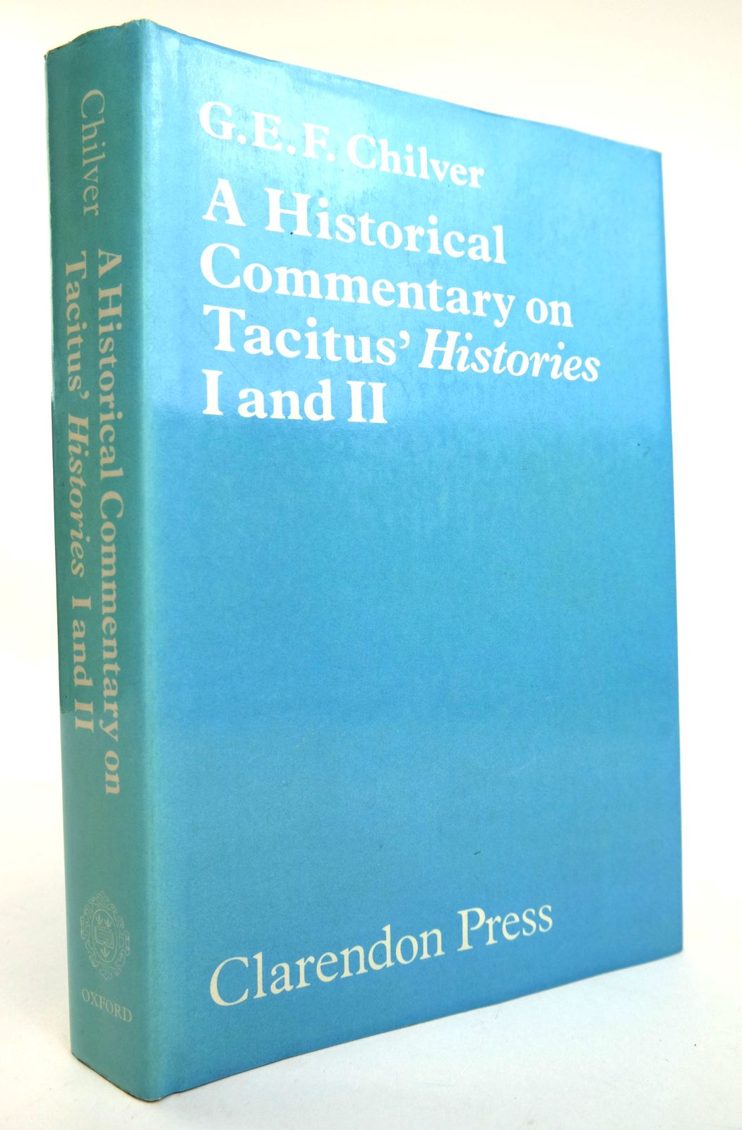 Photo of A HISTORICAL COMMENTARY ON TACITUS' HISTORIES I AND II- Stock Number: 1818858
