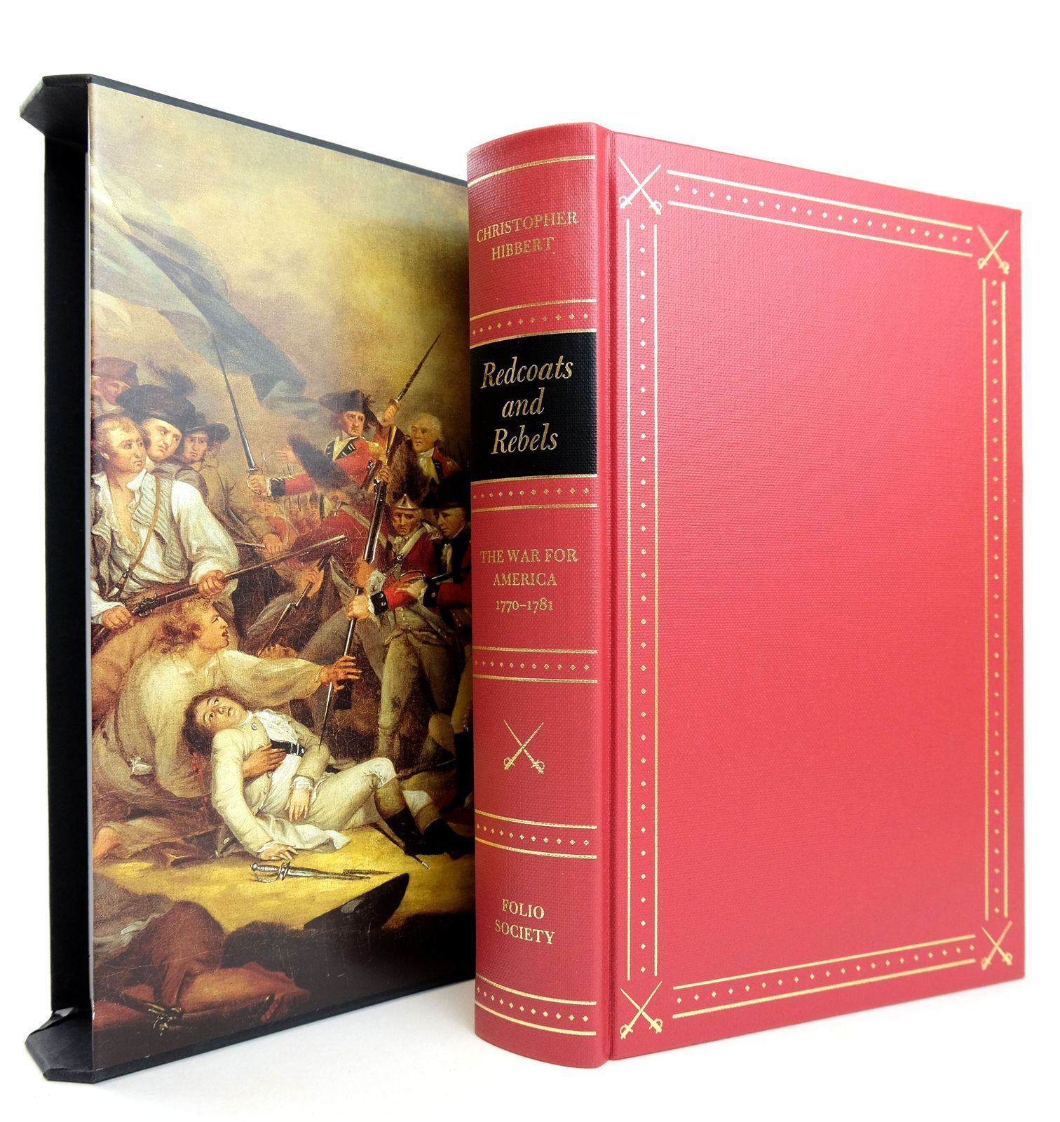 Photo of REDCOATS AND REBELS written by Hibbert, Christopher published by Folio Society (STOCK CODE: 1818877)  for sale by Stella & Rose's Books
