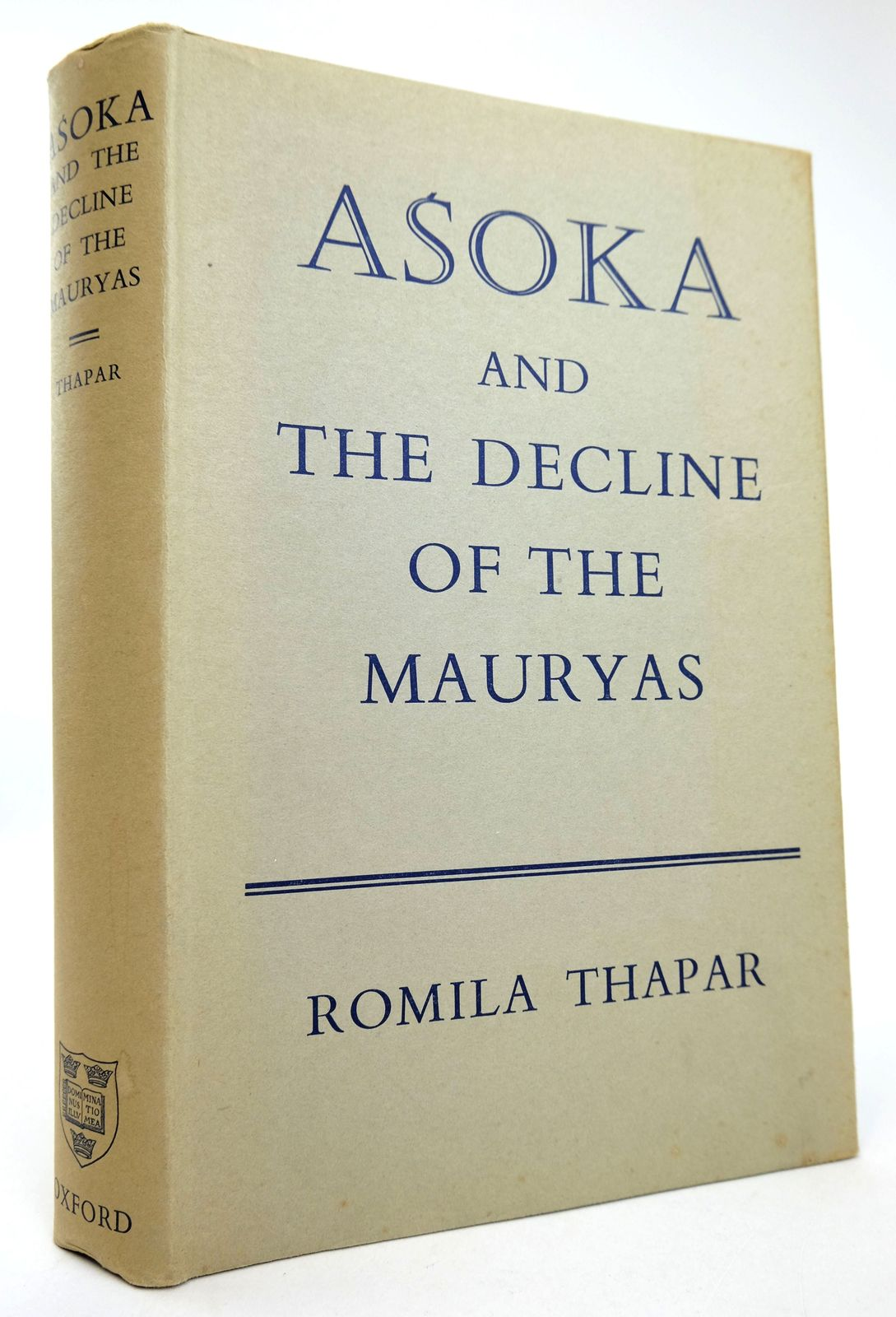Photo of ASOKA AND THE DECLINE OF THE MAURYAS written by Thapar, Romila published by Oxford University Press (STOCK CODE: 1818897)  for sale by Stella & Rose's Books