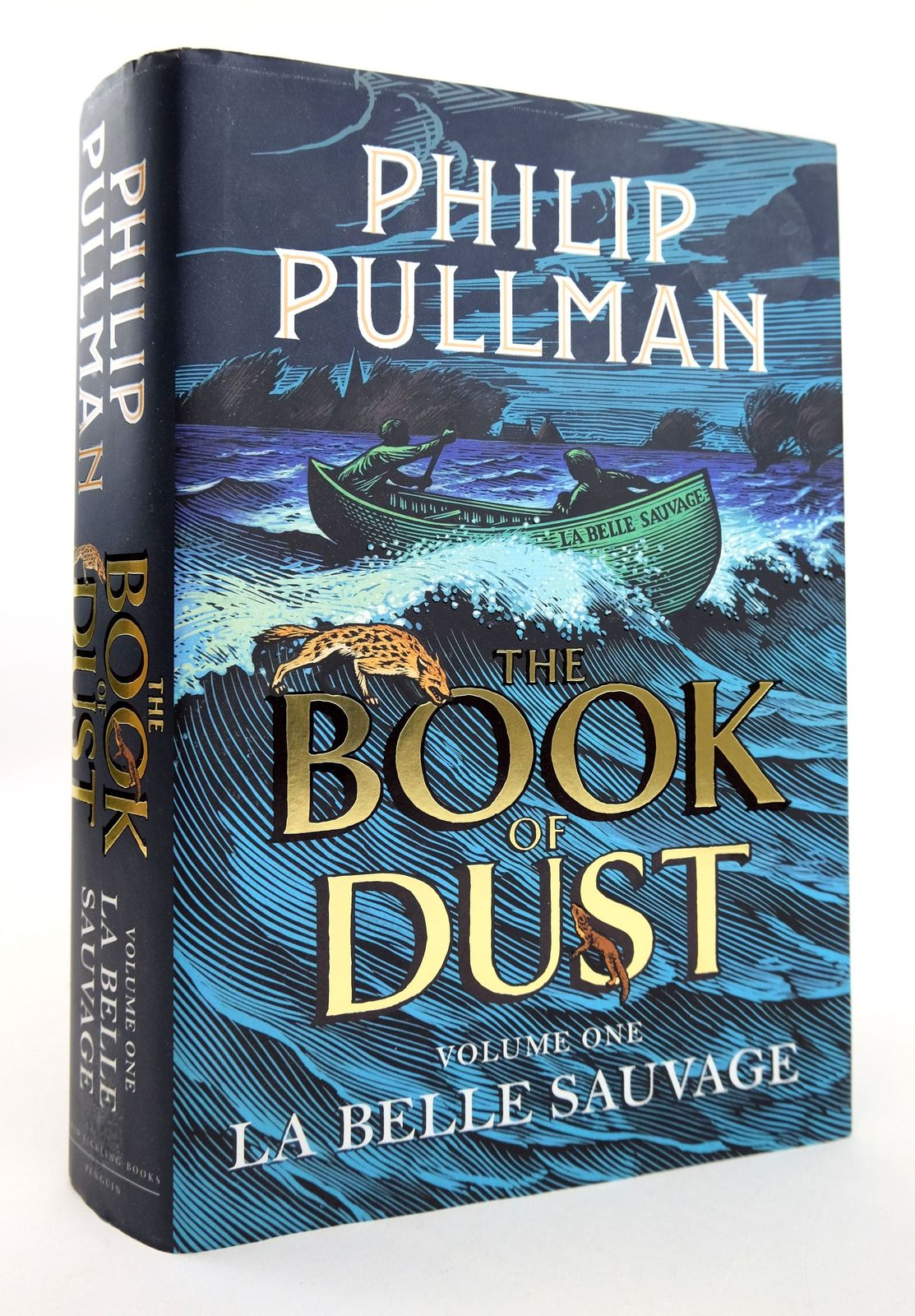Photo of THE BOOK OF DUST VOLUME ONE: LA BELLE SAUVAGE written by Pullman, Philip illustrated by Wormell, Chris published by David Fickling Books (STOCK CODE: 1818913)  for sale by Stella & Rose's Books
