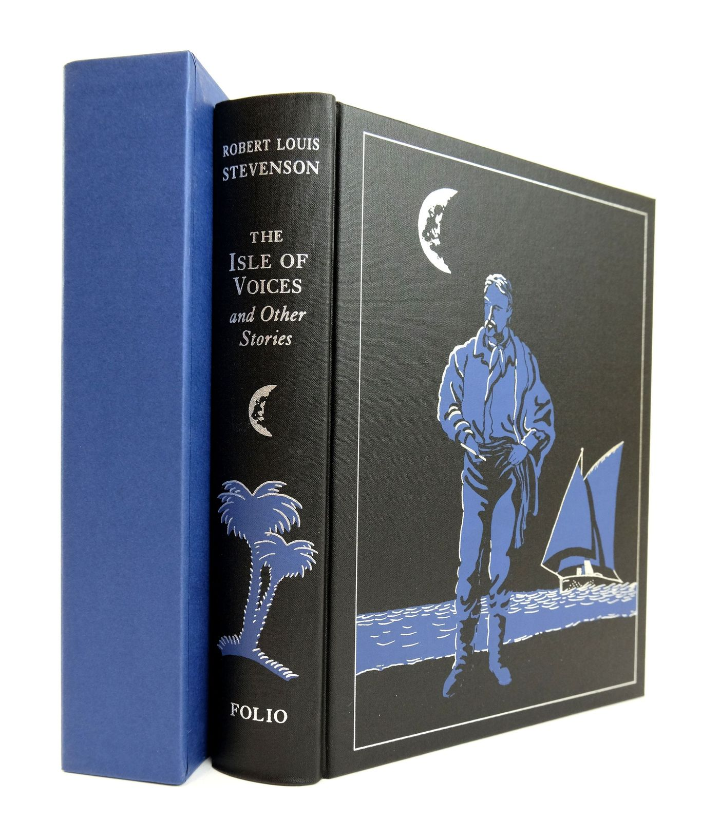 Photo of THE ISLE OF VOICES AND OTHER STORIES written by Stevenson, Robert Louis illustrated by Foreman, Michael published by Folio Society (STOCK CODE: 1818925)  for sale by Stella & Rose's Books