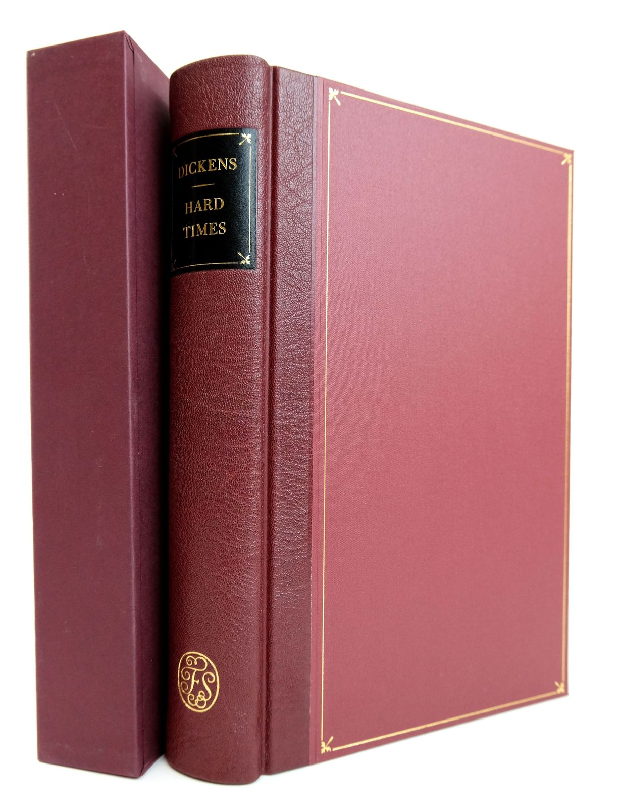 Photo of HARD TIMES FOR THESE TIMES written by Dickens, Charles illustrated by Walker, Fred published by Folio Society (STOCK CODE: 1818955)  for sale by Stella & Rose's Books
