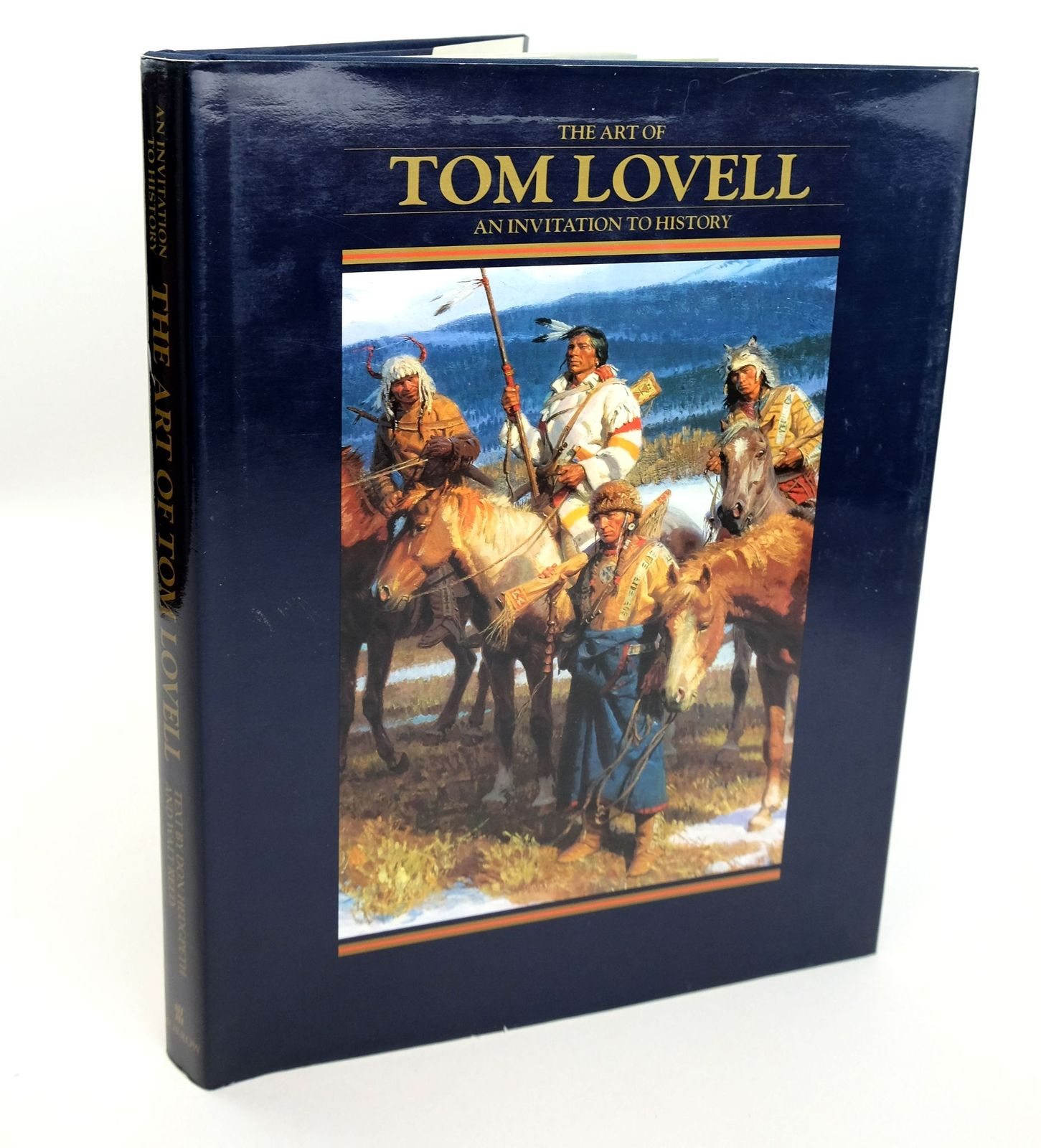 Photo of THE ART OF TOM LOVELL: AN INVITATION TO HISTORY- Stock Number: 1818956