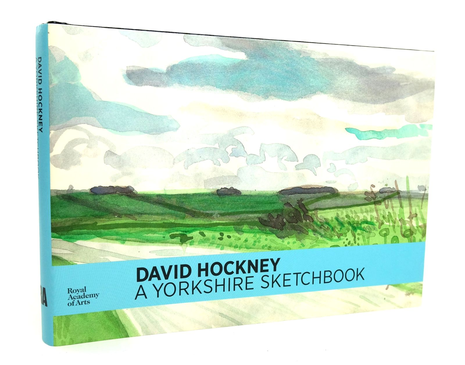 Photo of DAVID HOCKNEY: A YORKSHIRE SKETCHBOOK written by Hockney, David illustrated by Hockney, David published by Royal Academy of Arts (STOCK CODE: 1818957)  for sale by Stella & Rose's Books