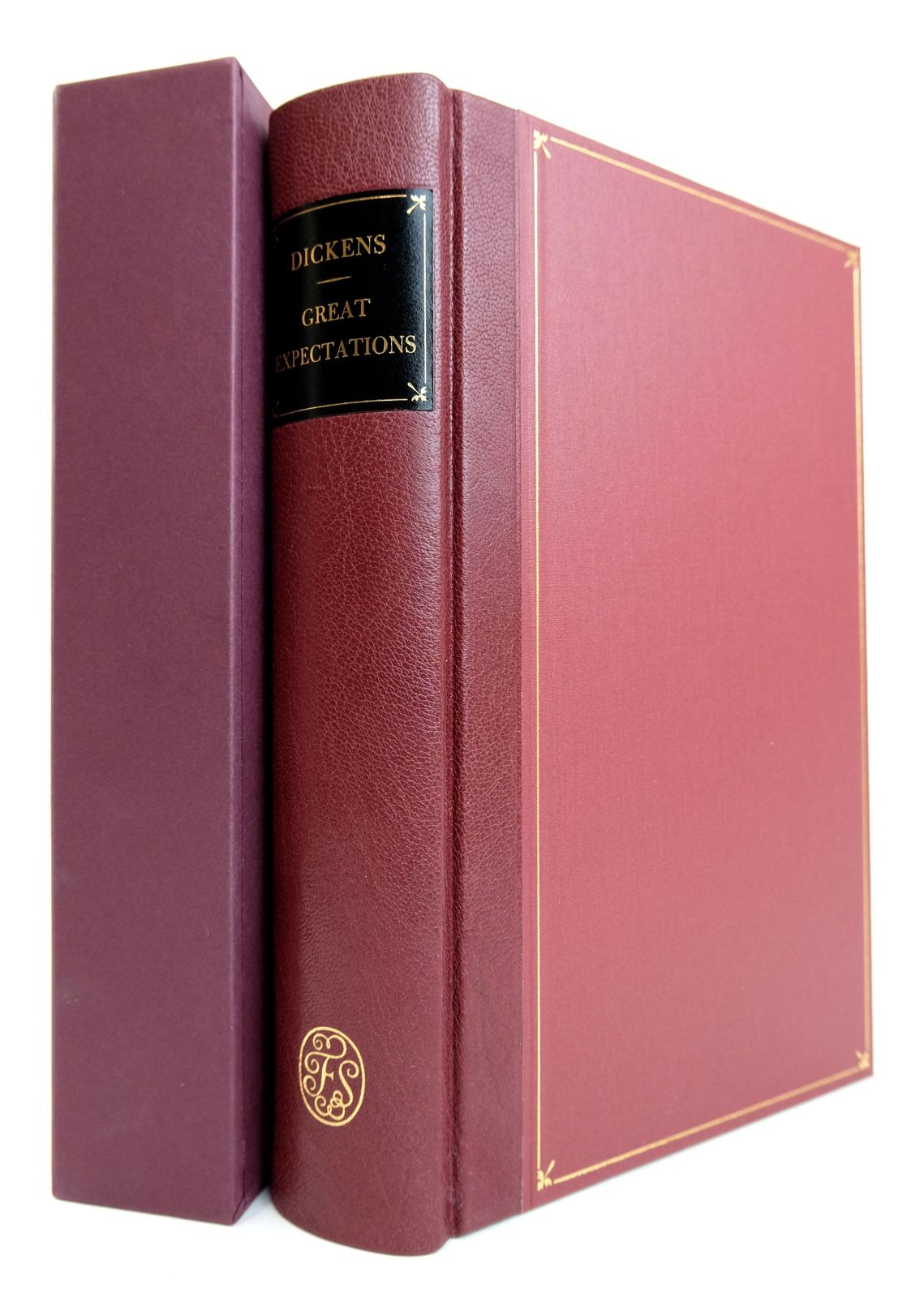 Photo of GREAT EXPECTATIONS written by Dickens, Charles illustrated by Stone, Marcus published by Folio Society (STOCK CODE: 1818959)  for sale by Stella & Rose's Books