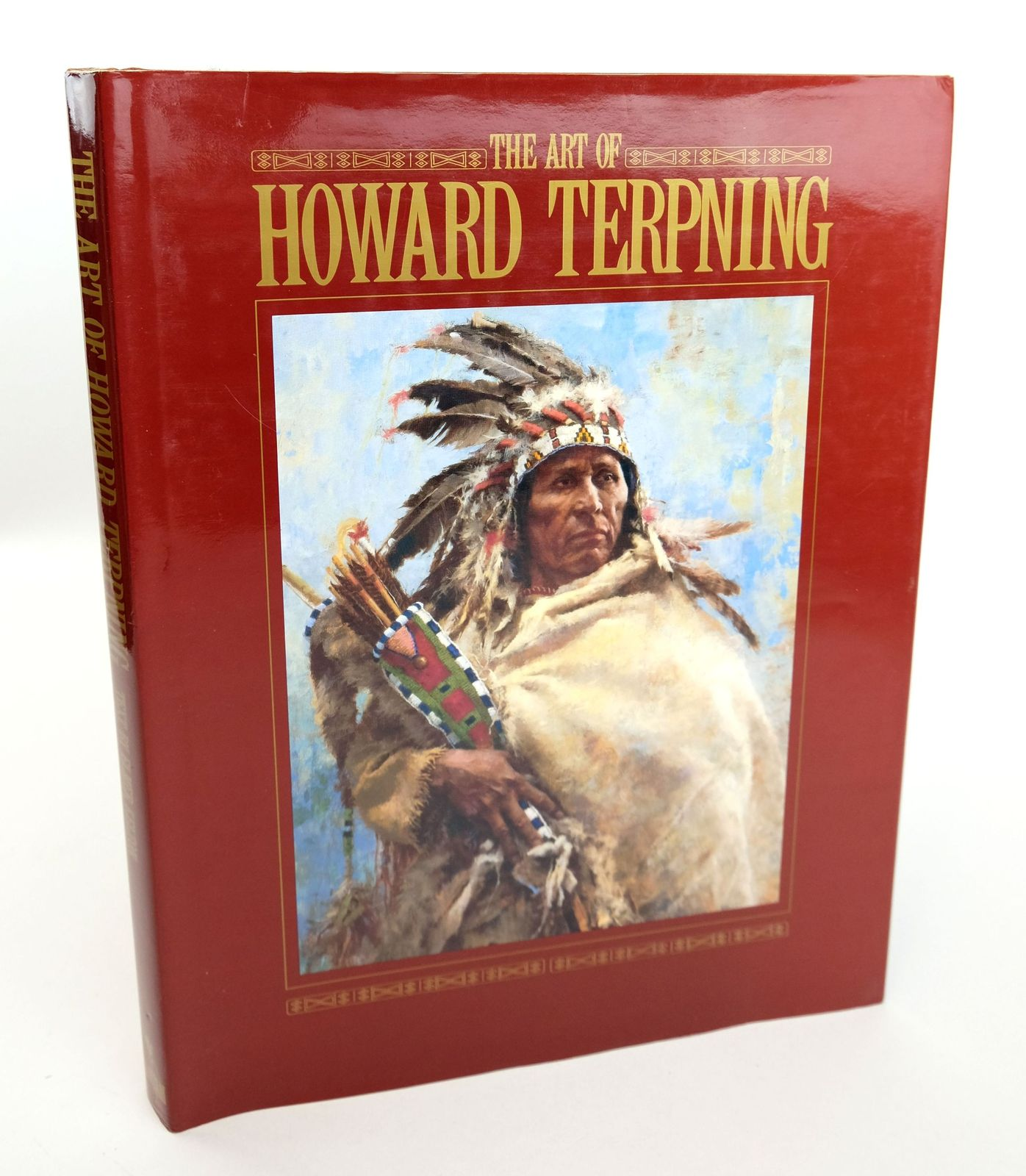 Photo of THE ART OF HOWARD TERPNING written by Kelton, Elmer illustrated by Terpning, published by Bantam Books (STOCK CODE: 1818960)  for sale by Stella & Rose's Books