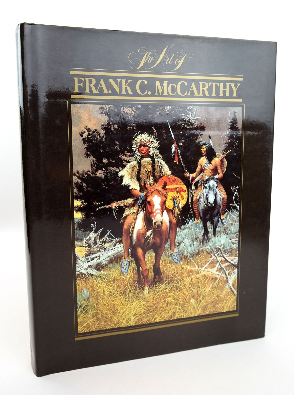 Photo of THE ART OF FRANK C. MCCARTHY written by Kelton, Elmer illustrated by McCarthy, Frank C. published by William Morrow & Company Inc (STOCK CODE: 1818964)  for sale by Stella & Rose's Books