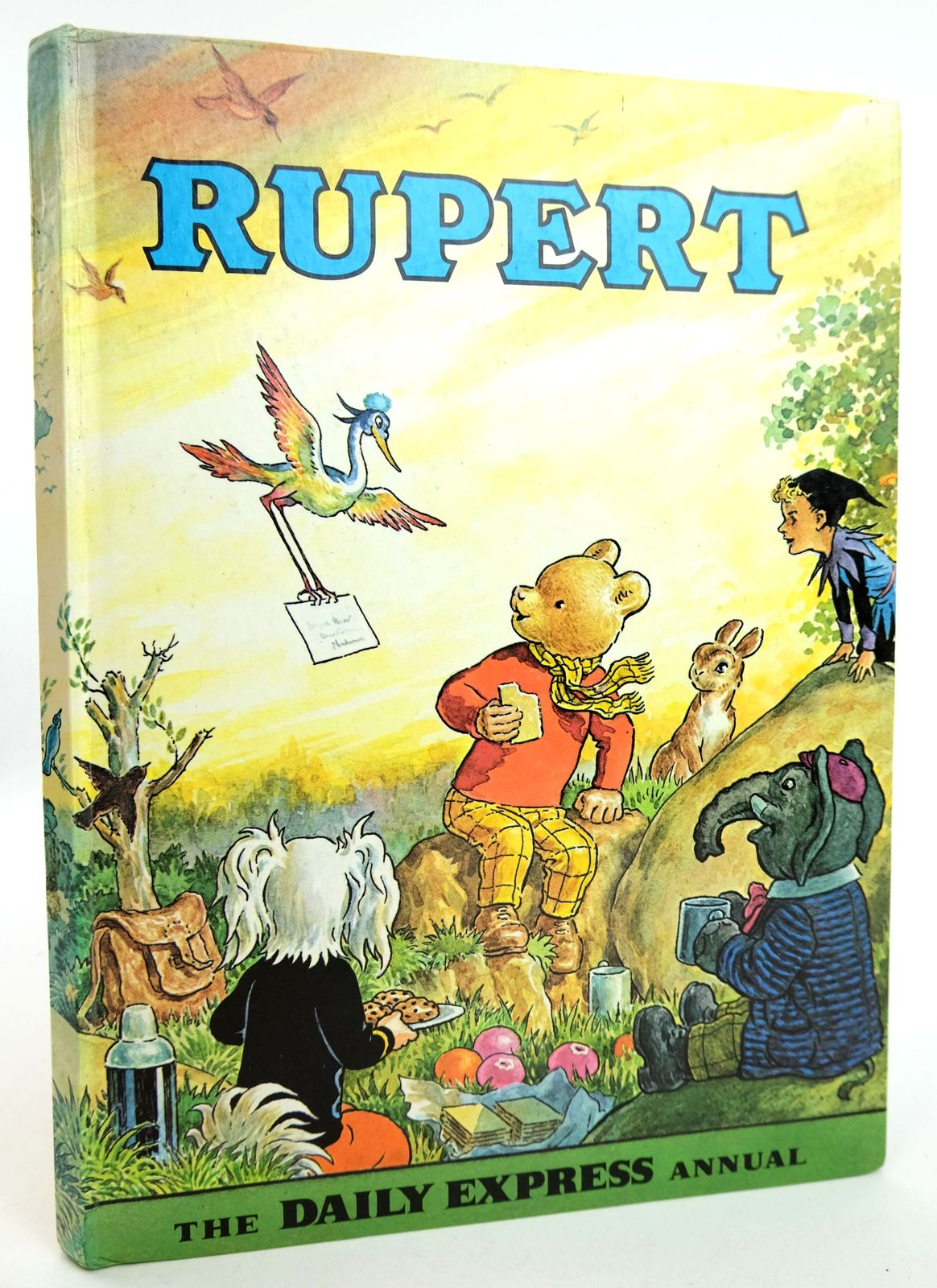 Photo of RUPERT ANNUAL 1972 written by Bestall, Alfred illustrated by Bestall, Alfred published by Daily Express (STOCK CODE: 1818977)  for sale by Stella & Rose's Books