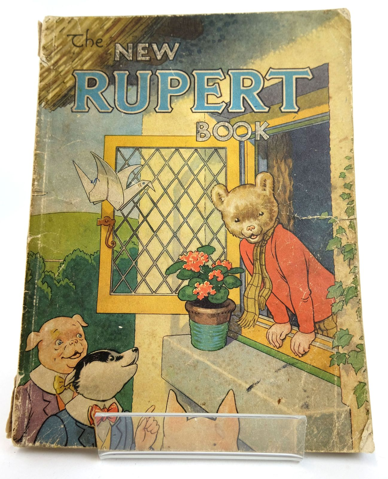 Photo of RUPERT ANNUAL 1946 - THE NEW RUPERT BOOK written by Bestall, Alfred illustrated by Bestall, Alfred published by Daily Express (STOCK CODE: 1818981)  for sale by Stella & Rose's Books