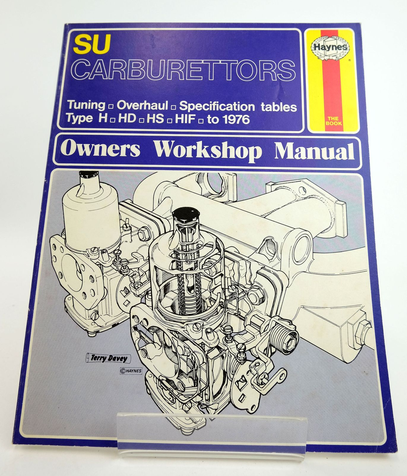 Photo of SU CARBURETTORS OWNERS WORKSHOP MANUAL- Stock Number: 1818984