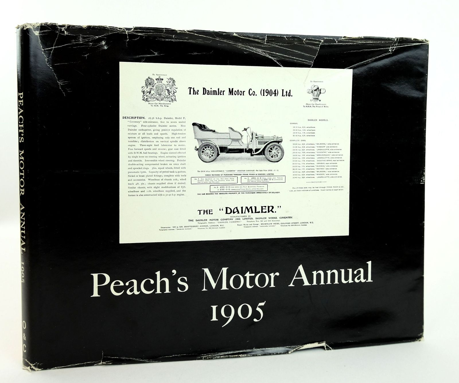 Photo of PEACH'S MOTOR ANNUAL 1905 published by Orbach & Chambers (STOCK CODE: 1818989)  for sale by Stella & Rose's Books