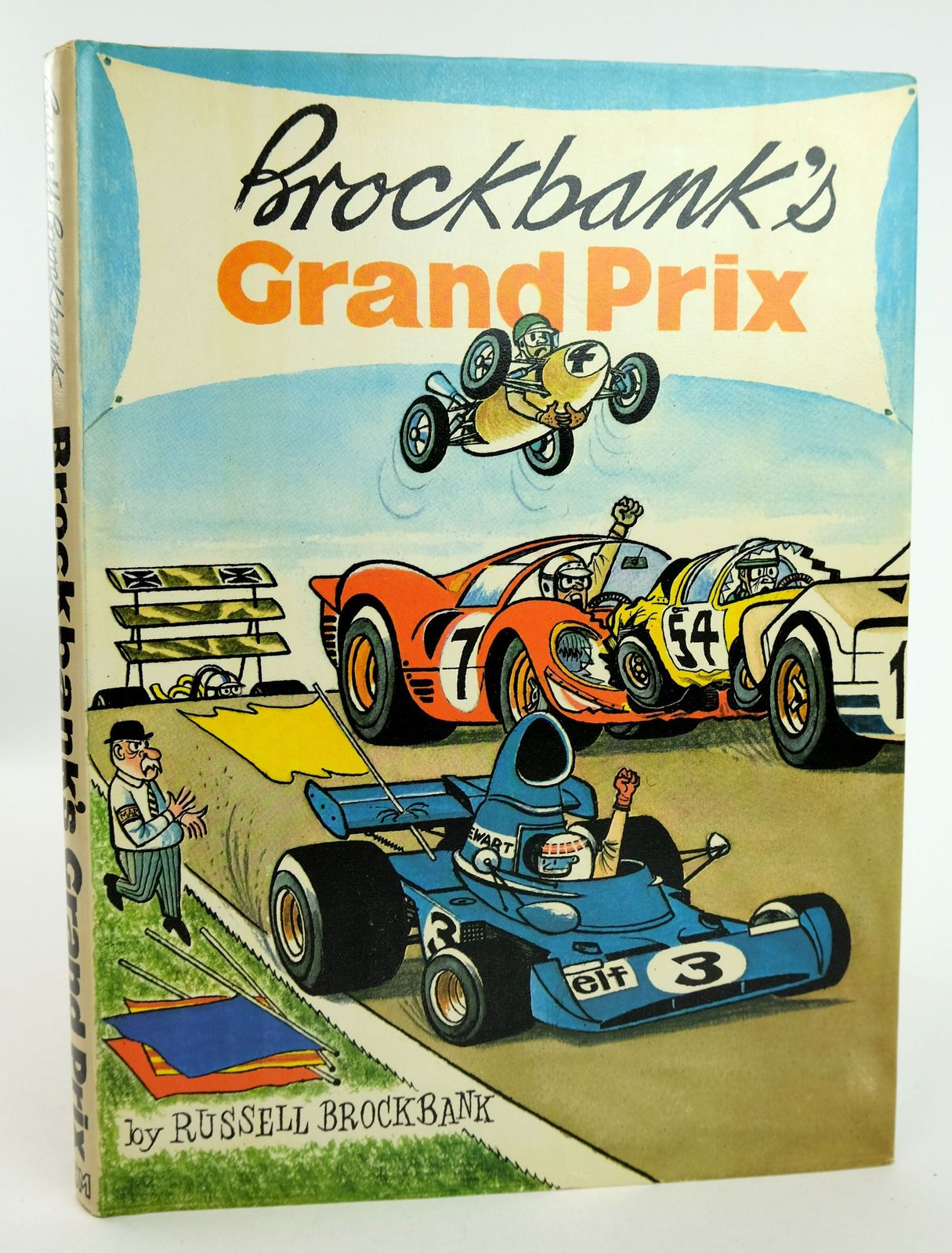Photo of BROCKBANK'S GRAND PRIX written by Brockbank, Russell Manney, Henry illustrated by Brockbank, Russell published by Eyre Methuen Ltd. (STOCK CODE: 1818992)  for sale by Stella & Rose's Books