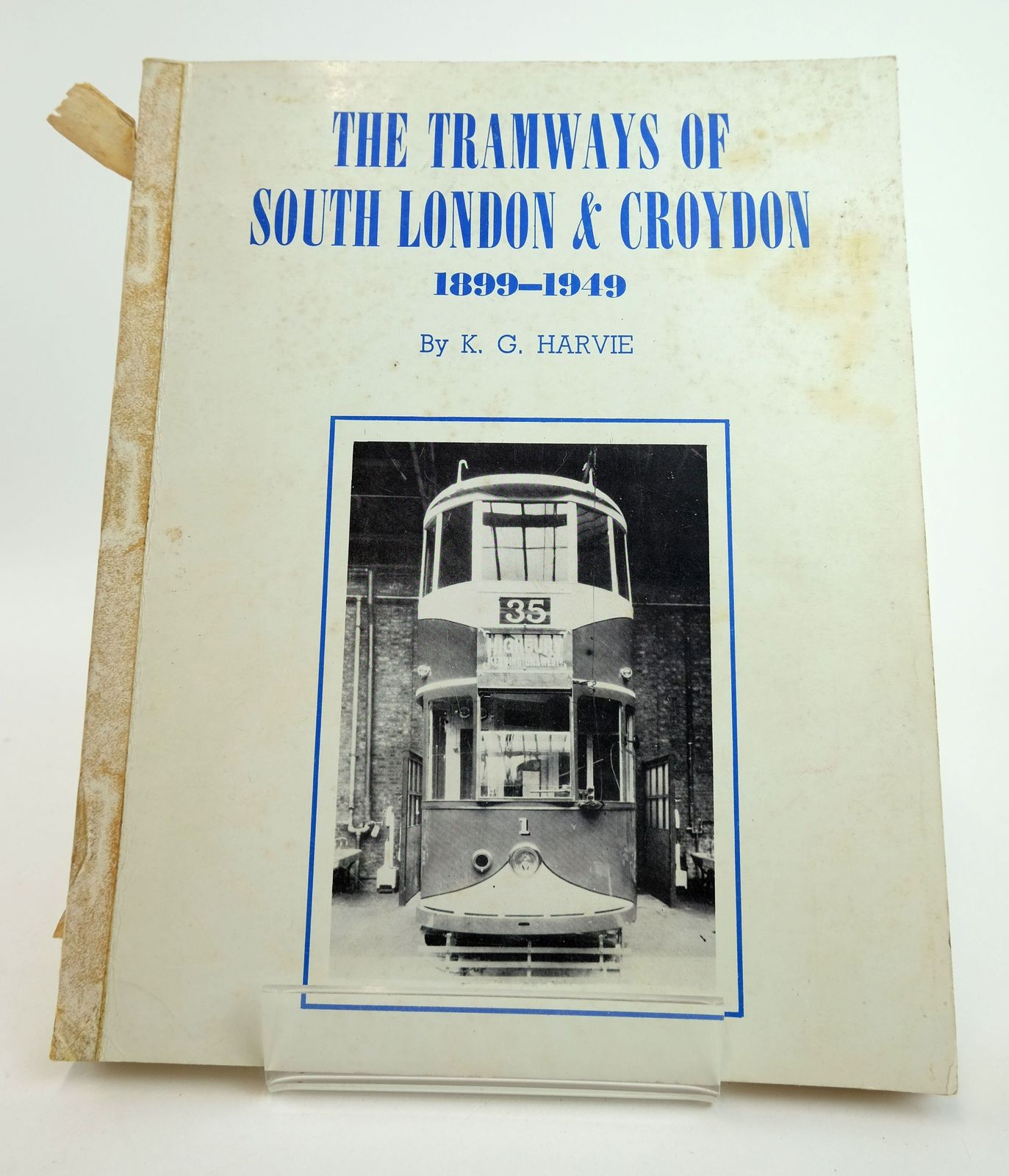 Photo of THE TRAMWAYS OF SOUTH LONDON & CROYDON 1899-1949- Stock Number: 1818997