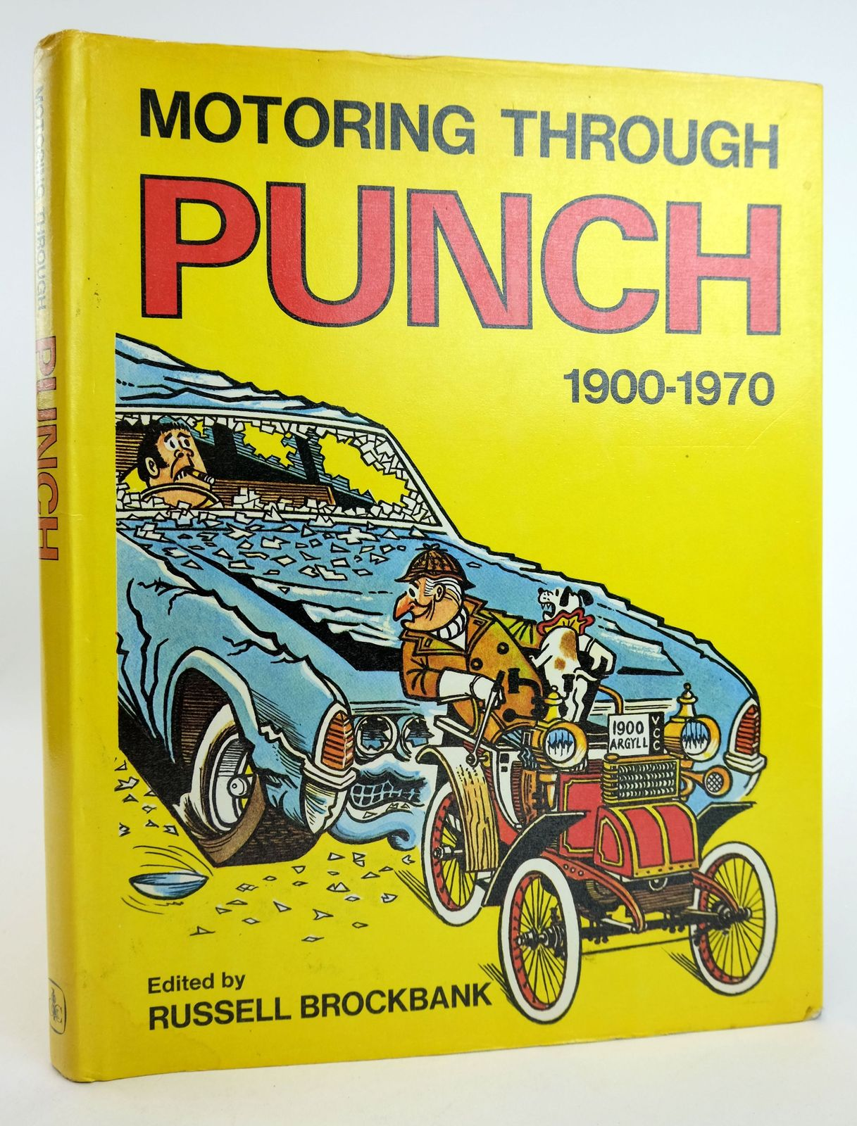 Photo of MOTORING THROUGH PUNCH written by Brockbank, Russell published by David & Charles (STOCK CODE: 1818998)  for sale by Stella & Rose's Books