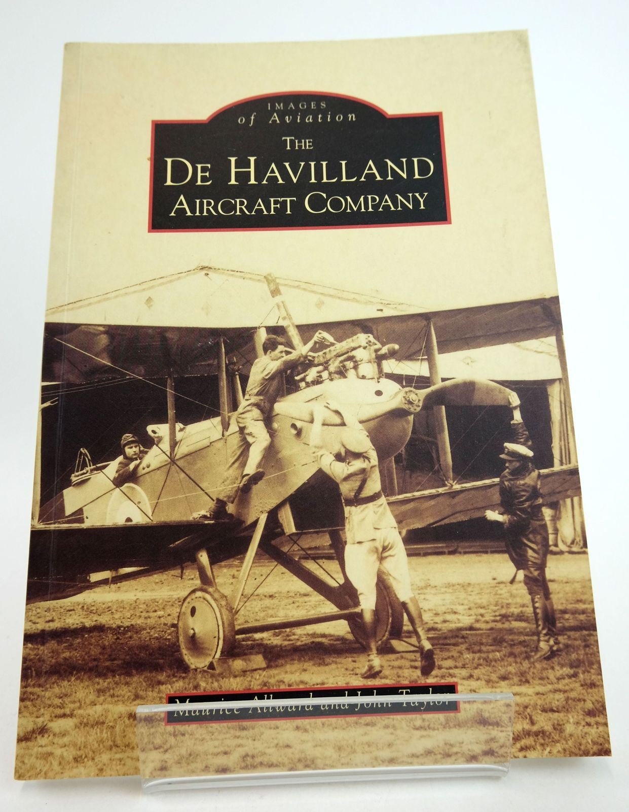Photo of THE DE HAVILLAND AIRCRAFT COMPANY (IMAGES OF AVIATION) written by Allward, Maurice F. Taylor, John W.R. published by Tempus (STOCK CODE: 1819011)  for sale by Stella & Rose's Books