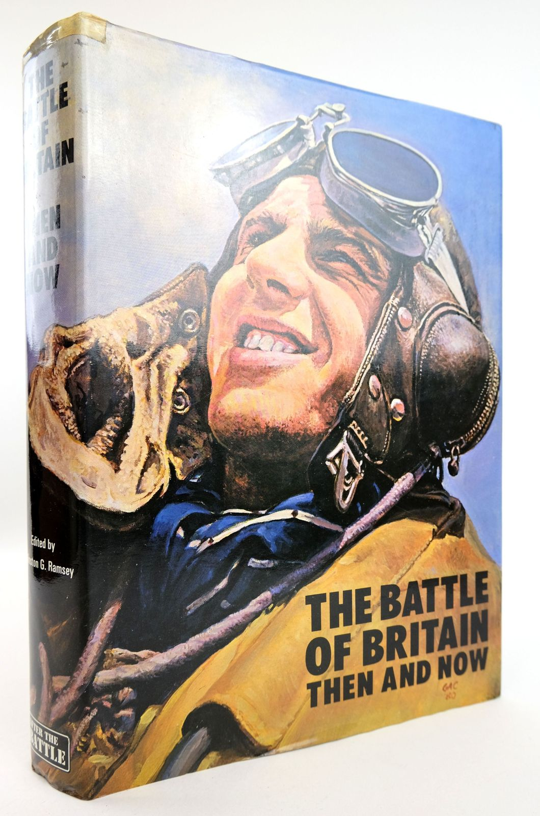 Photo of THE BATTLE OF BRITAIN THEN AND NOW written by Ramsey, Winston G. published by Battle of Britain Prints International Ltd. (STOCK CODE: 1819013)  for sale by Stella & Rose's Books