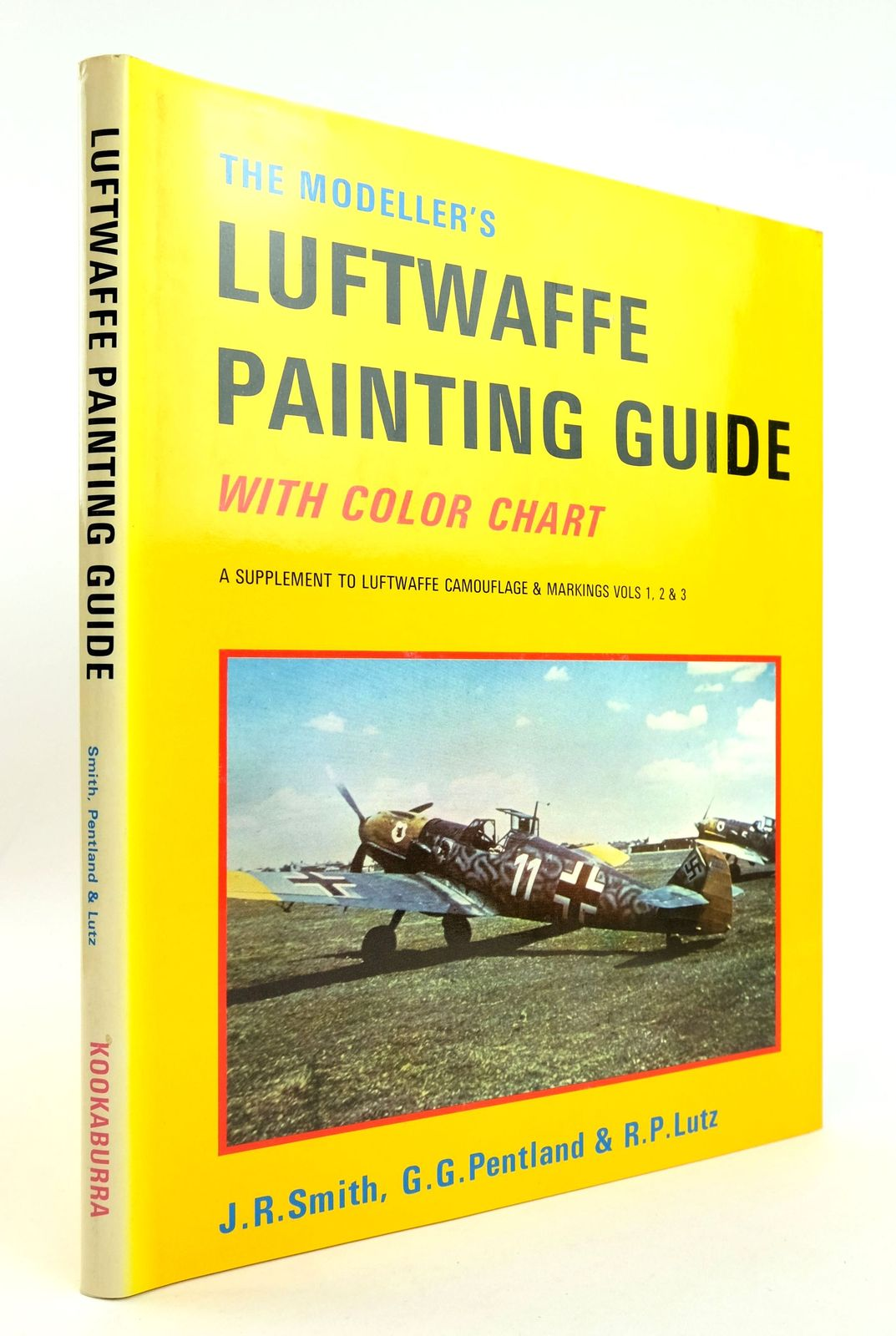 Photo of THE MODELLER'S LUFTWAFFE PAINTING GUIDE written by Smith, J.R. Pentland, G.G. Lutz, R.P. illustrated by Pentland, G.G. published by Kookaburra Technical Publications (STOCK CODE: 1819026)  for sale by Stella & Rose's Books