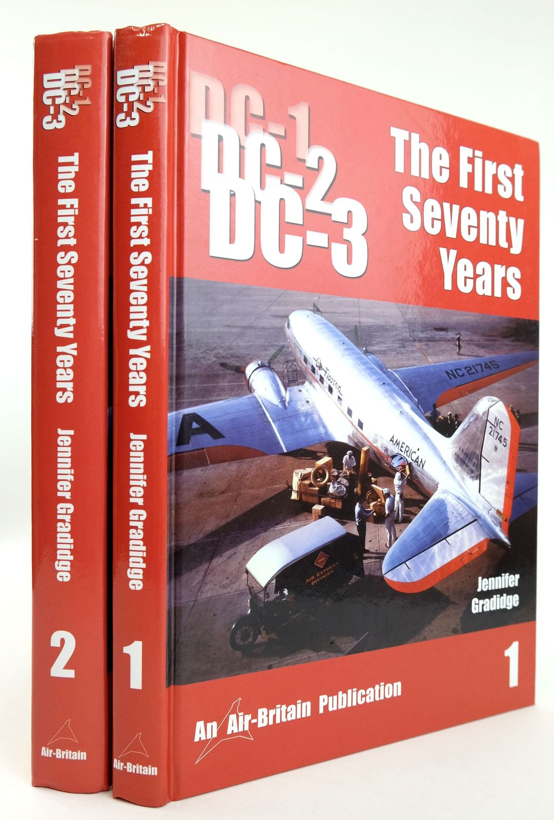 Photo of THE DOUGLAS DC-1/DC-2/DC-3 THE FIRST SEVENTY YEARS (TWO VOLUMES)- Stock Number: 1819028