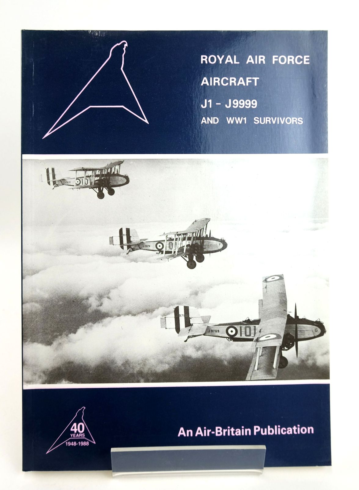 Photo of ROYAL AIR FORCE AIRCRAFT J1 - J9999 AND WW1 SURVIVORS written by Thompson, Dennis Sturtivant, Ray published by Air-Britain (Historians) Ltd. (STOCK CODE: 1819038)  for sale by Stella & Rose's Books