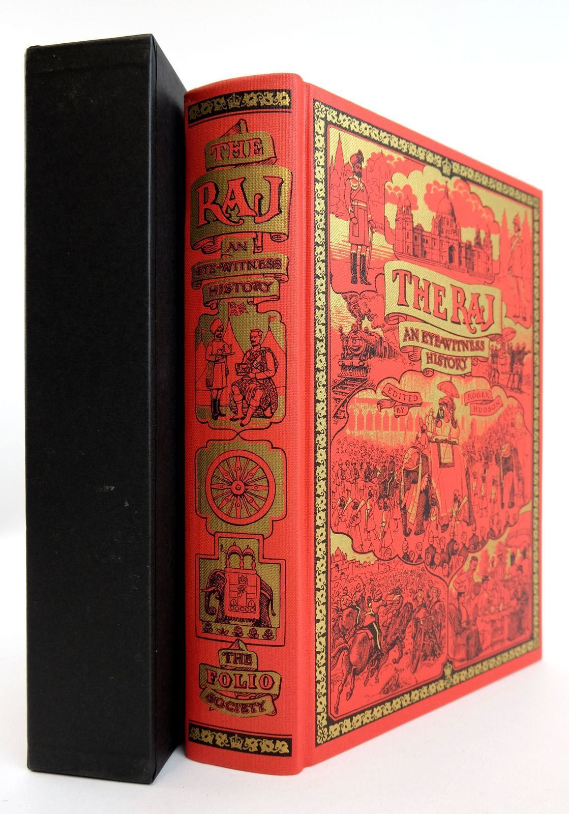 Photo of THE RAJ written by Hudson, Roger published by Folio Society (STOCK CODE: 1819049)  for sale by Stella & Rose's Books