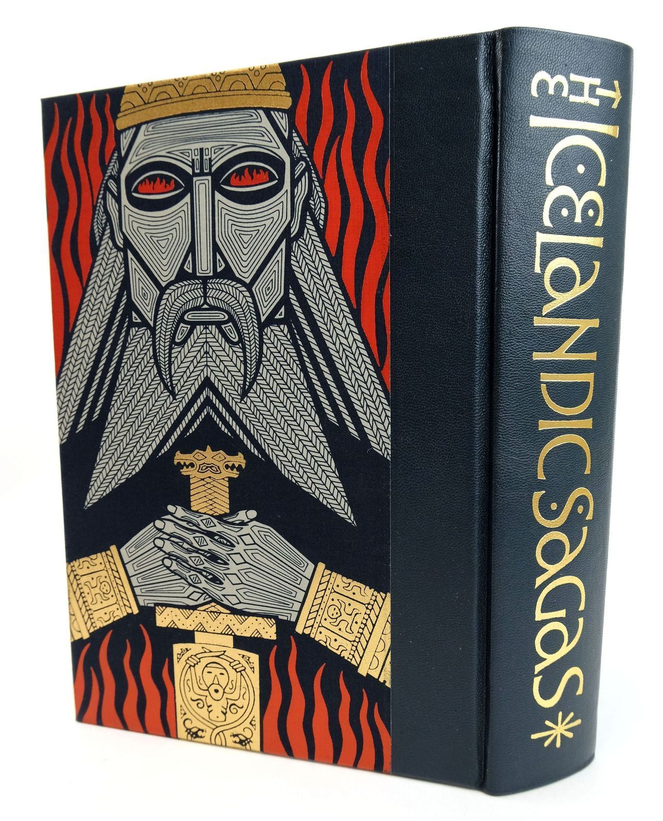 Photo of THE ICELANDIC SAGAS written by Magnusson, Magnus illustrated by Noyes, Simon published by Folio Society (STOCK CODE: 1819053)  for sale by Stella & Rose's Books