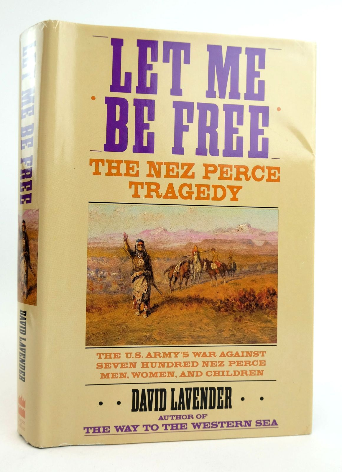 Photo of LET ME BE FREE: THE NEZ PERCE TRAGEDY- Stock Number: 1819055