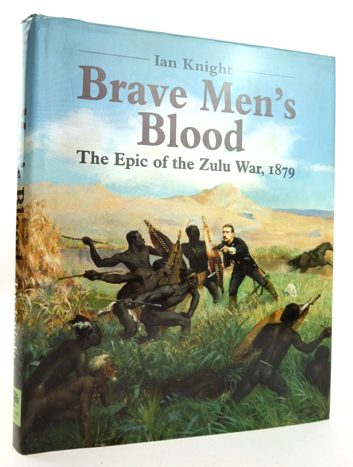 Photo of BRAVE MEN'S BLOOD written by Knight, Ian published by Greenhill Books (STOCK CODE: 1819060)  for sale by Stella & Rose's Books