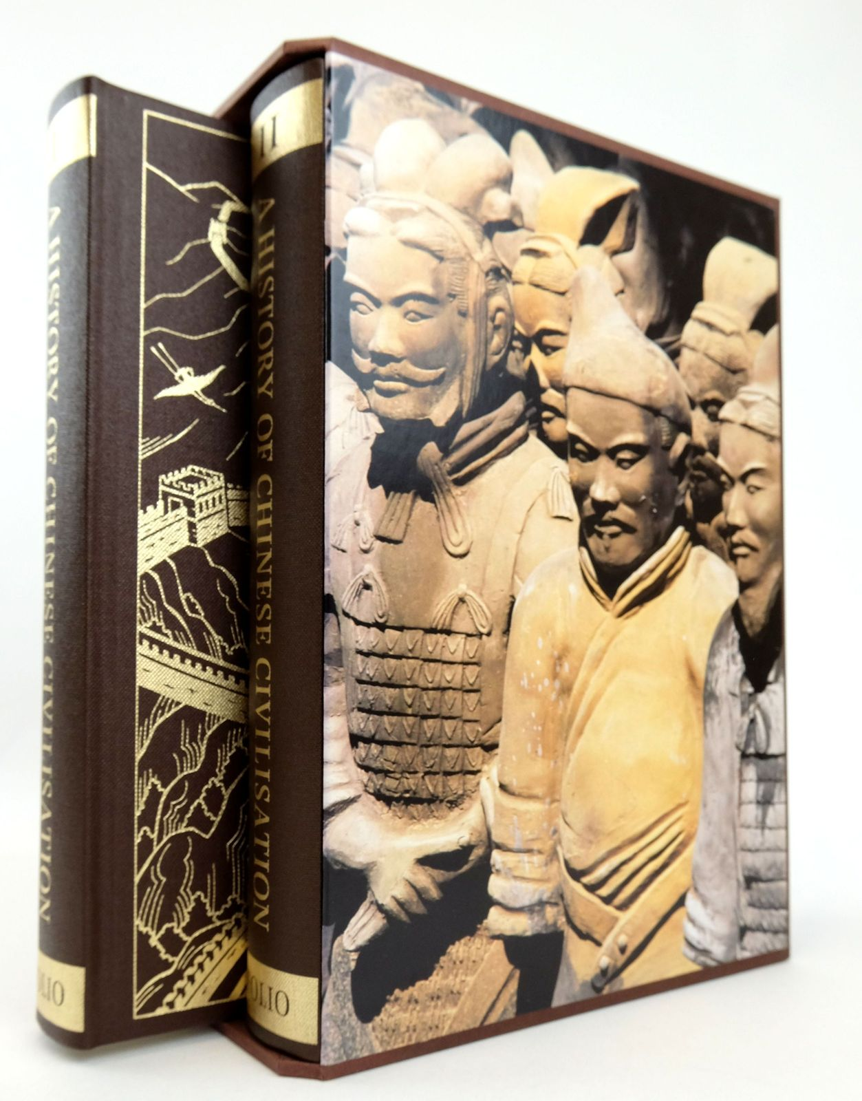 Photo of A HISTORY OF CHINESE CIVILISATION (2 VOLUMES) written by Gernet, Jacques published by Folio Society (STOCK CODE: 1819089)  for sale by Stella & Rose's Books