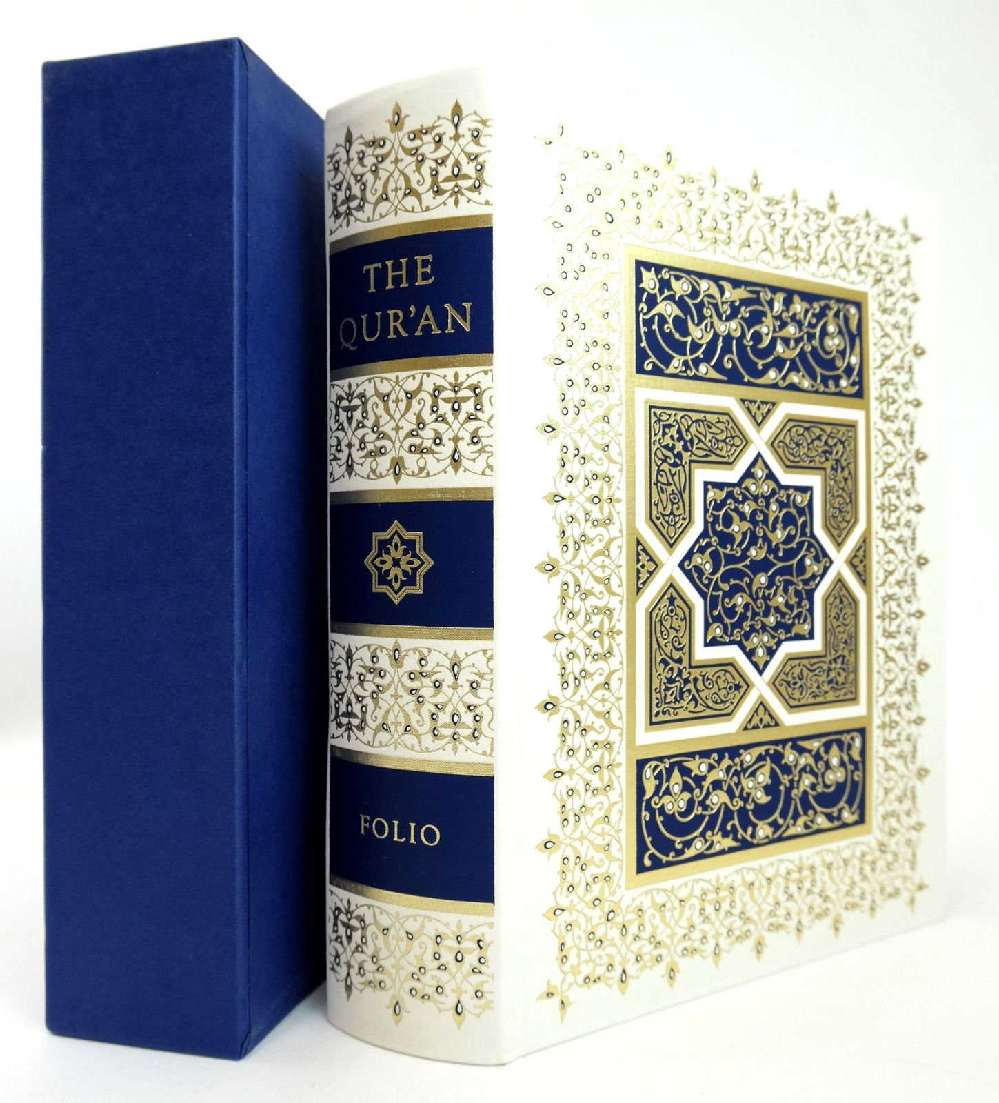 Photo of THE QUR'AN written by Pickthall, Marmaduke published by Folio Society (STOCK CODE: 1819094)  for sale by Stella & Rose's Books