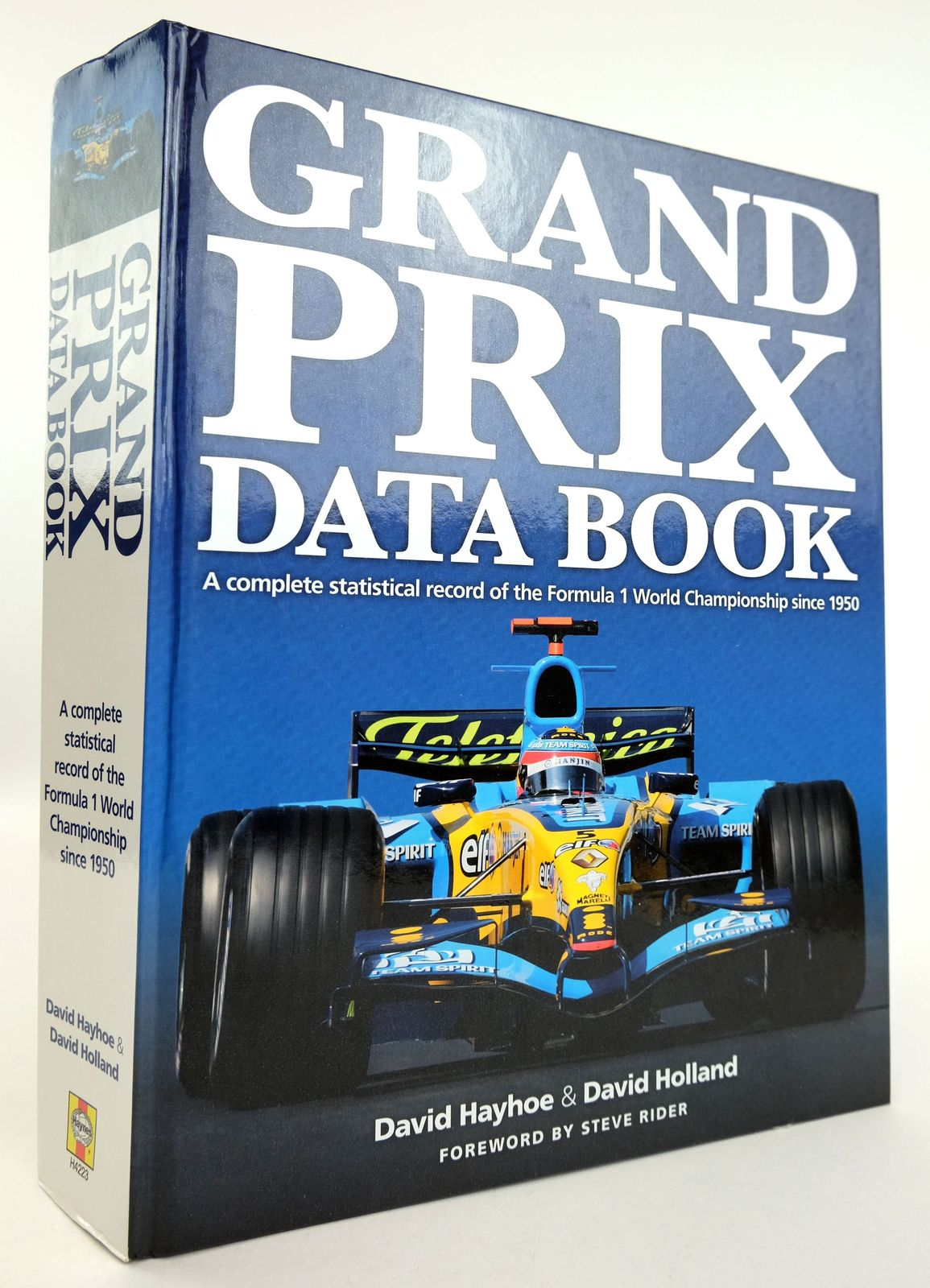 Photo of GRAND PRIX DATA BOOK- Stock Number: 1819109