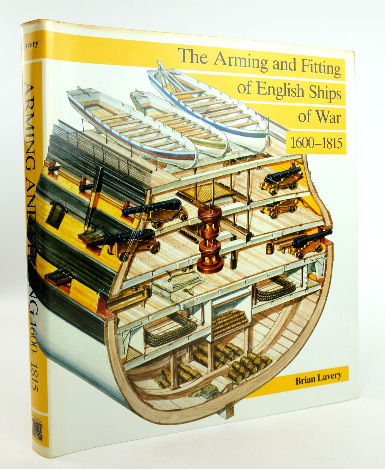 Photo of THE ARMING AND FITTING OF ENGLISH SHIPS OF WAR 1600-1815 written by Lavery, Brian published by Conway Maritime Press (STOCK CODE: 1819115)  for sale by Stella & Rose's Books