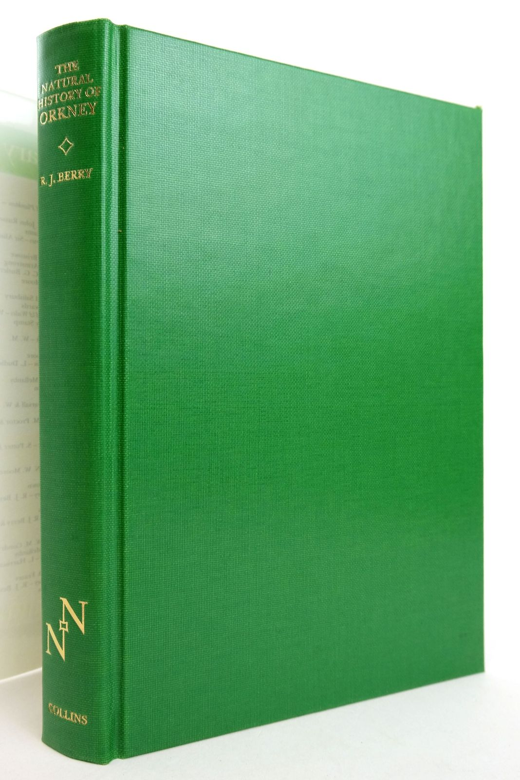 Photo of THE NATURAL HISTORY OF ORKNEY (NN 70) written by Berry, R.J. published by Collins (STOCK CODE: 1819138)  for sale by Stella & Rose's Books