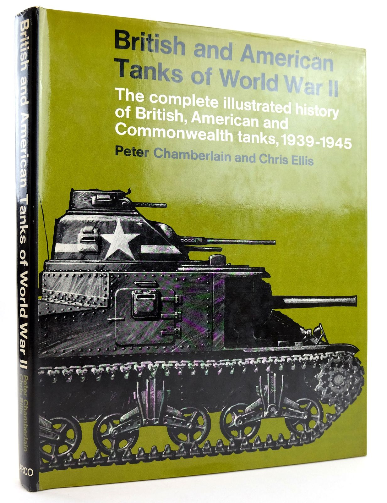 Photo of BRITISH AND AMERICAN TANKS OF WORLD WAR II written by Chamberlain, Peter Ellis, Chris published by Arco Publishing (STOCK CODE: 1819157)  for sale by Stella & Rose's Books