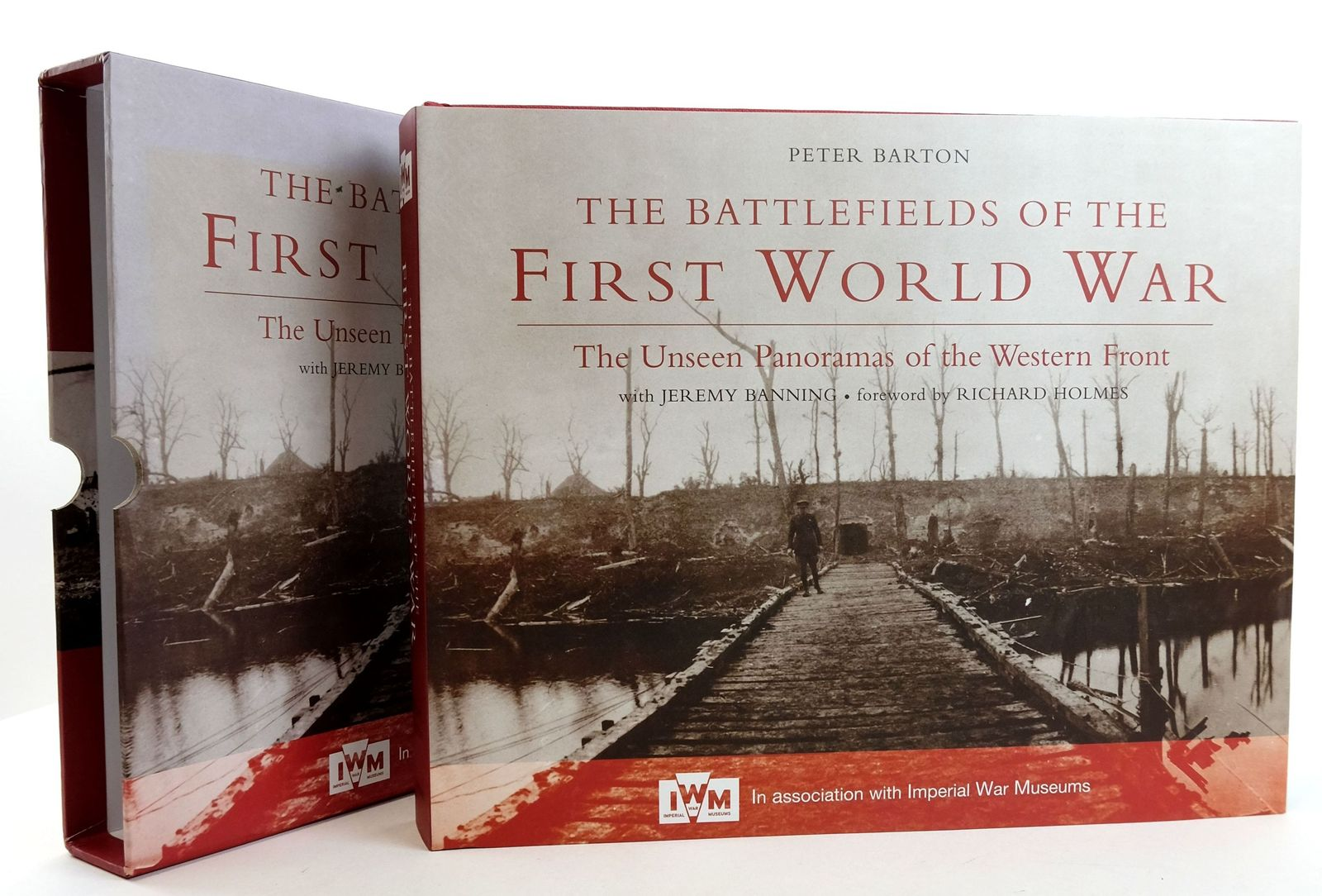 Photo of THE BATTLEFIELDS OF THE FIRST WORLD WAR: THE UNSEEN PANORAMAS OF THE WESTERN FRONT written by Barton, Peter published by Constable (STOCK CODE: 1819161)  for sale by Stella & Rose's Books