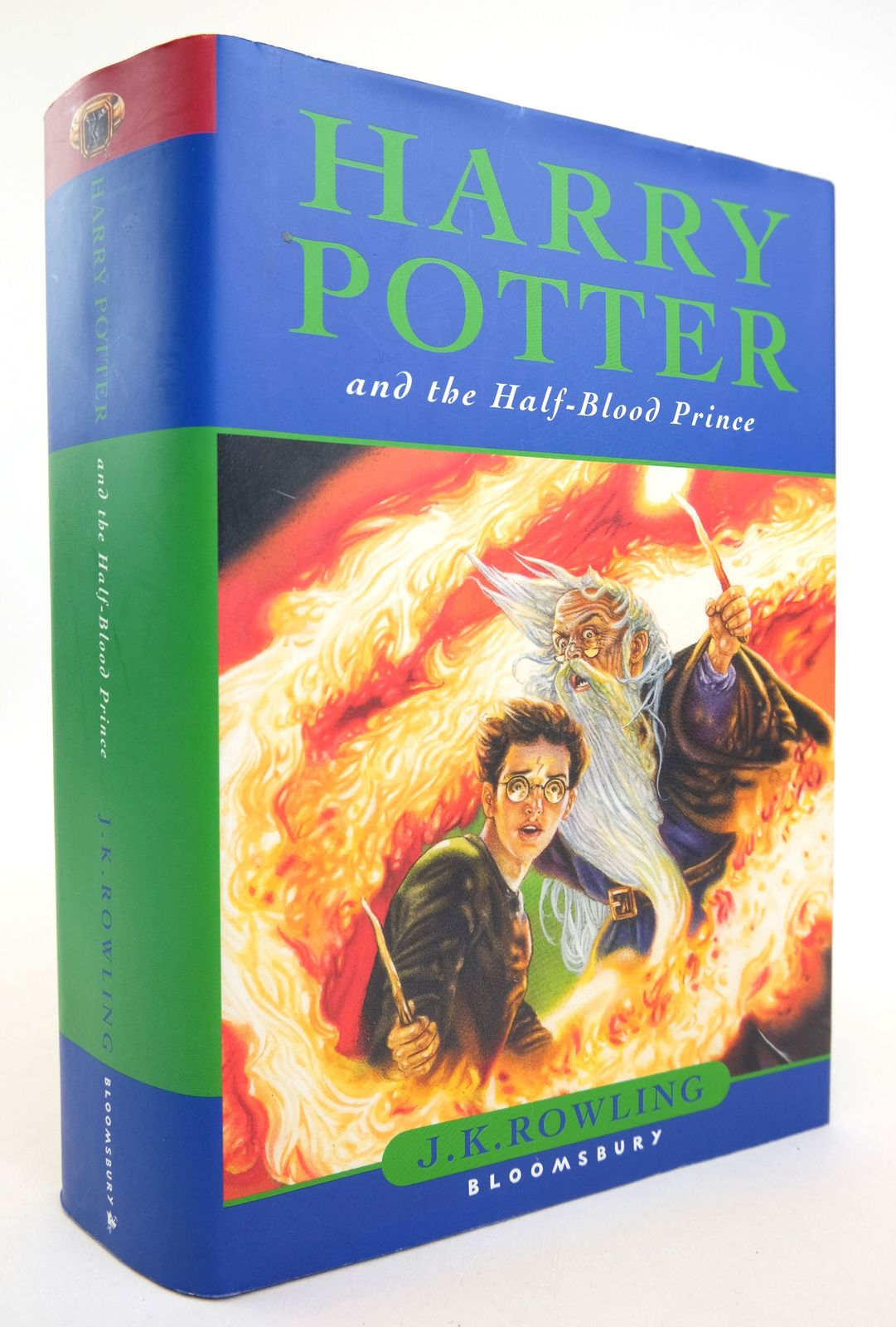 Photo of HARRY POTTER AND THE HALF-BLOOD PRINCE written by Rowling, J.K. published by Bloomsbury (STOCK CODE: 1819179)  for sale by Stella & Rose's Books