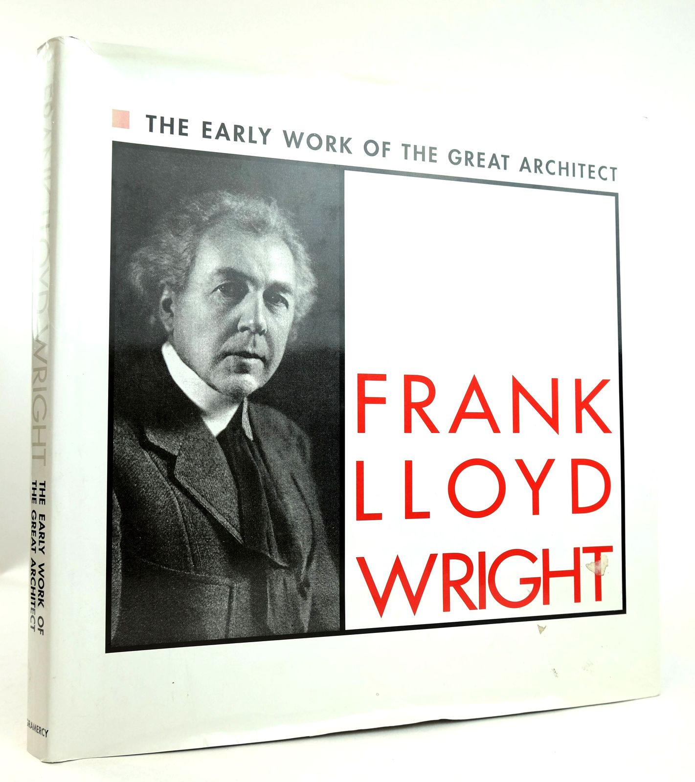 Photo of THE EARLY WORK OF THE GREAT ARCHITECT FRANK LLOYD WRIGHT- Stock Number: 1819191