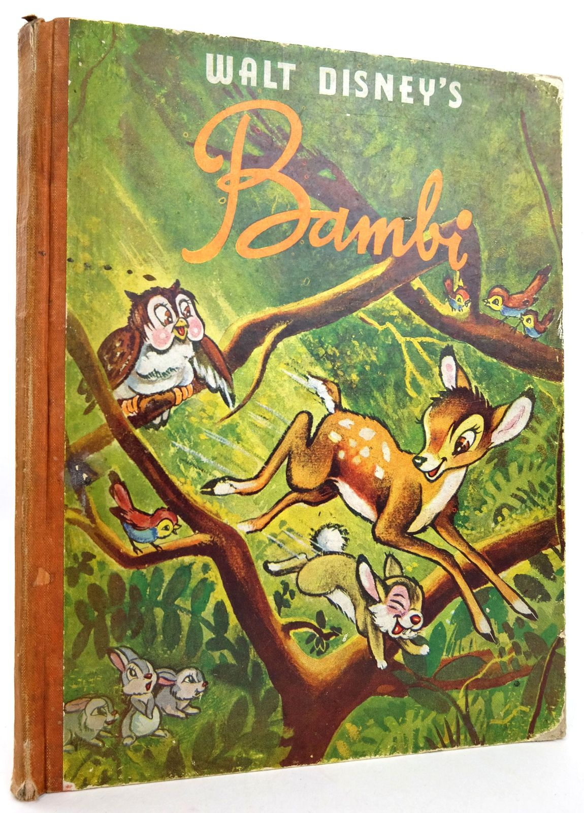 Photo of WALT DISNEY'S BAMBI written by Disney, Walt Salten, Felix illustrated by Disney, Walt published by Collins (STOCK CODE: 1819221)  for sale by Stella & Rose's Books