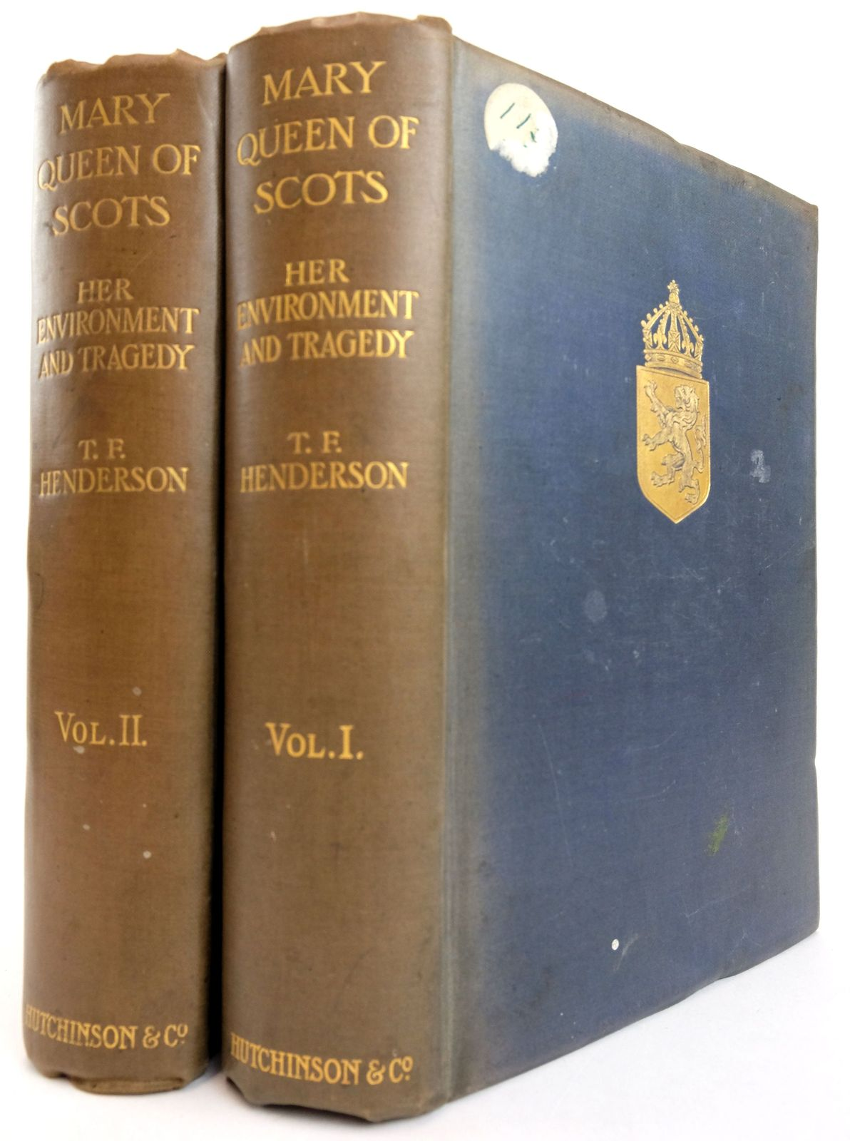 Photo of MARY QUEEN OF SCOTS: HER ENVIRONMENT AND TRAGEDY (2 VOLUMES)- Stock Number: 1819232