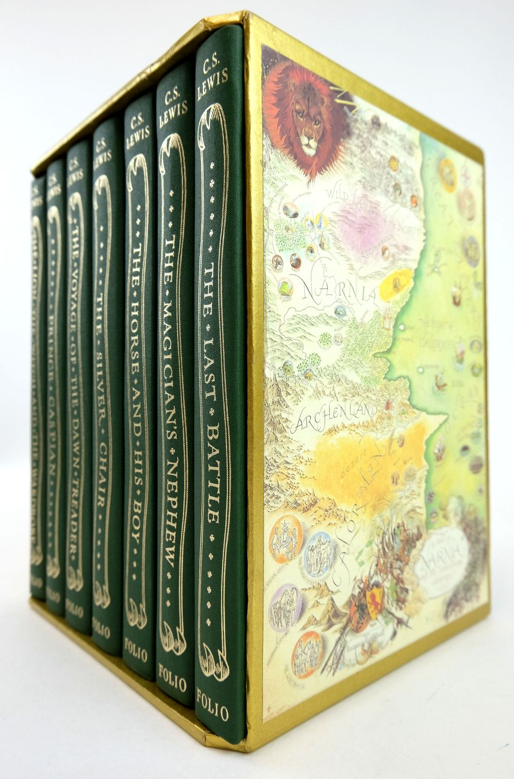 Photo of THE CHRONICLES OF NARNIA (7 VOLUMES)- Stock Number: 1819238