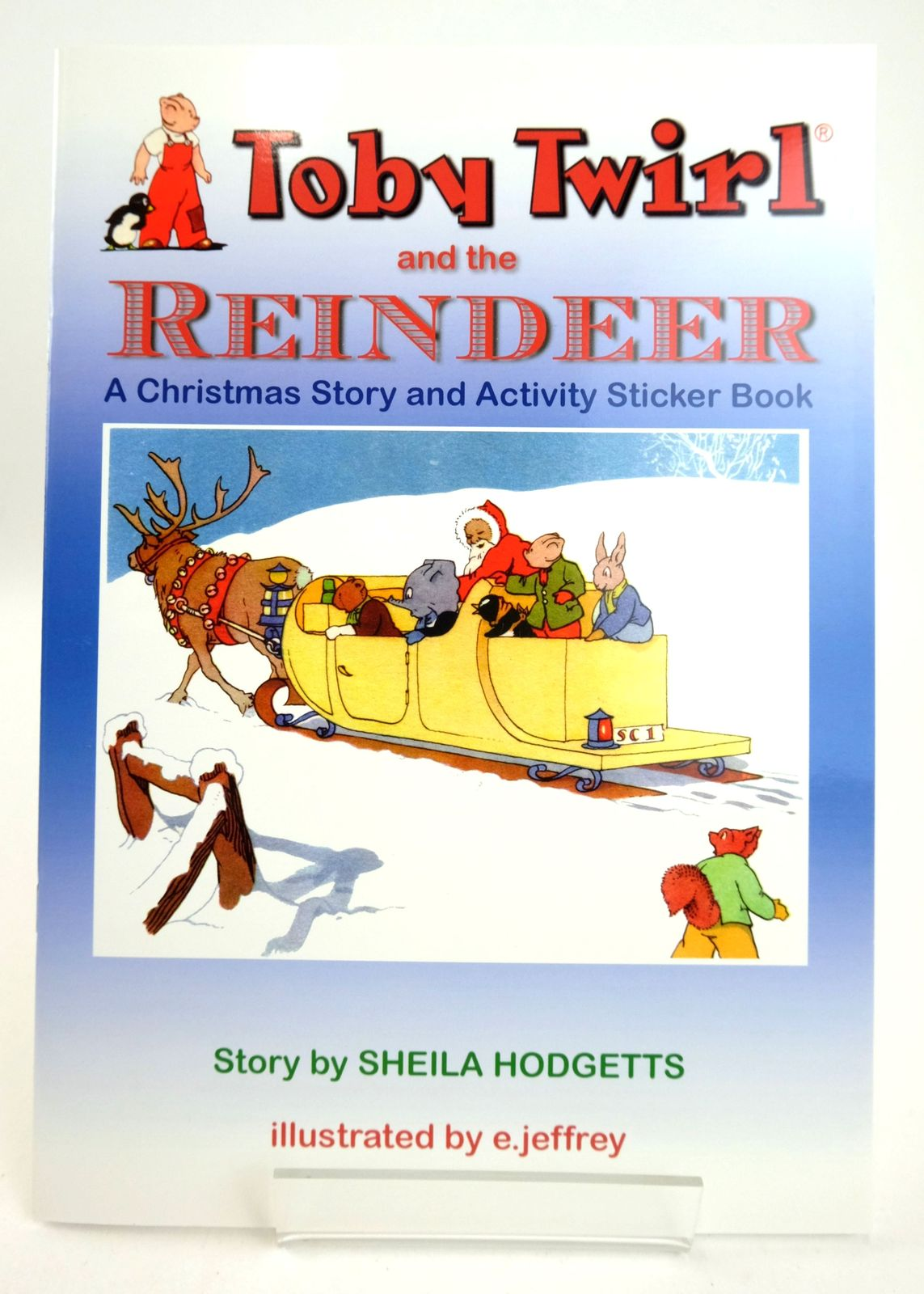 Photo of TOBY TWIRL AND THE REINDEER- Stock Number: 1819255