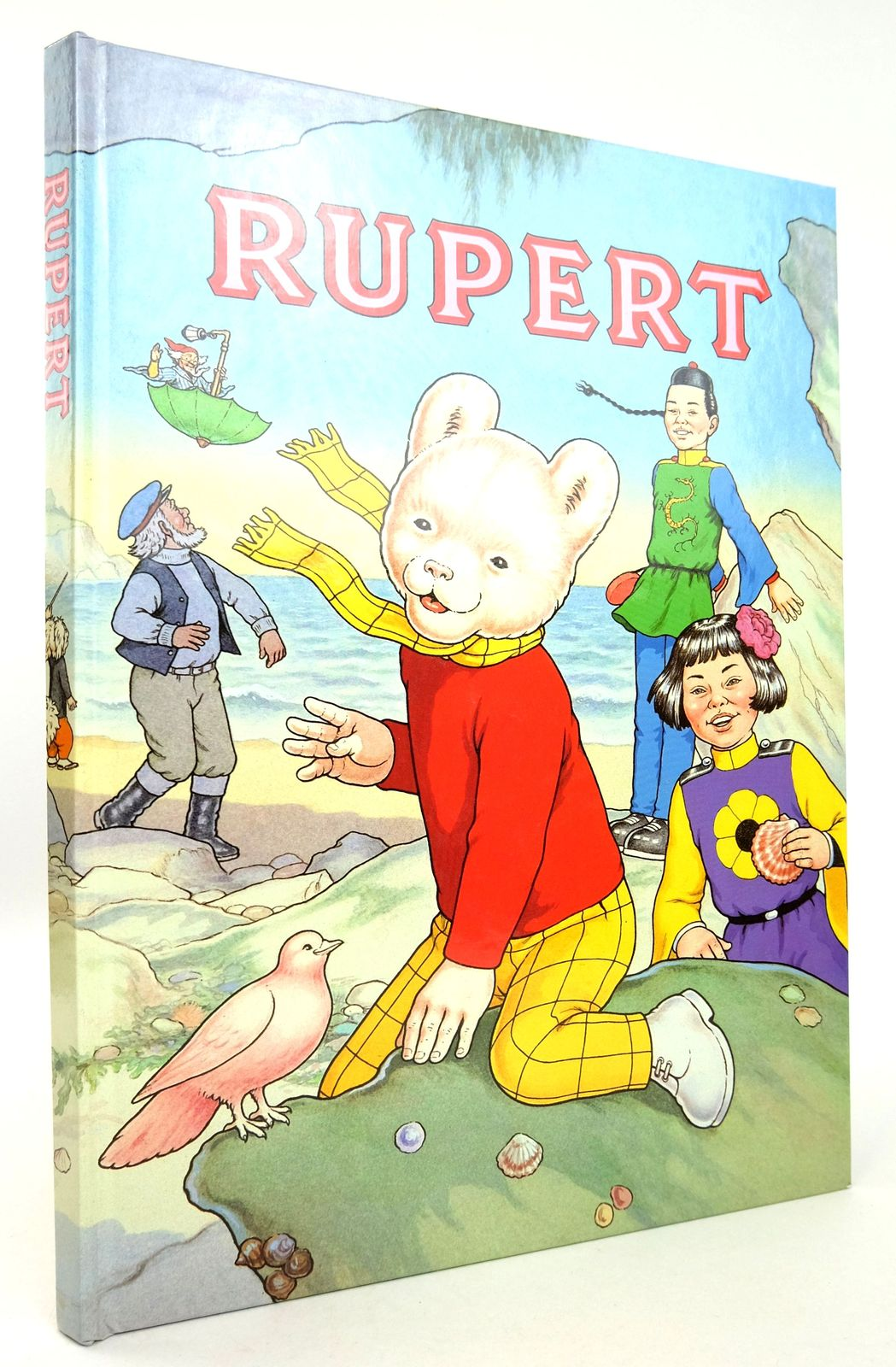 Photo of RUPERT ANNUAL 1991 written by Henderson, James Robinson, Ian illustrated by Harrold, John Bestall, Alfred published by Daily Express (STOCK CODE: 1819257)  for sale by Stella & Rose's Books