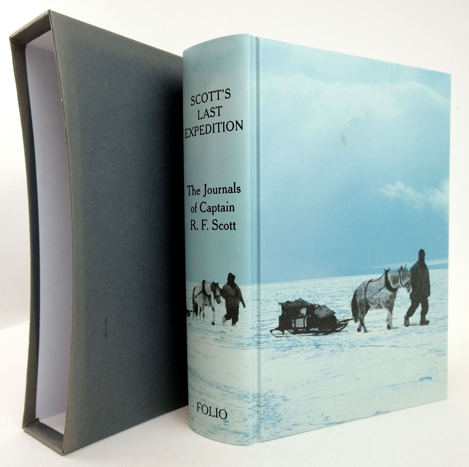 Photo of SCOTT'S LAST EXPEDITION written by Scott, Robert Falcon illustrated by Ponting, Herbert G. published by Folio Society (STOCK CODE: 1819260)  for sale by Stella & Rose's Books