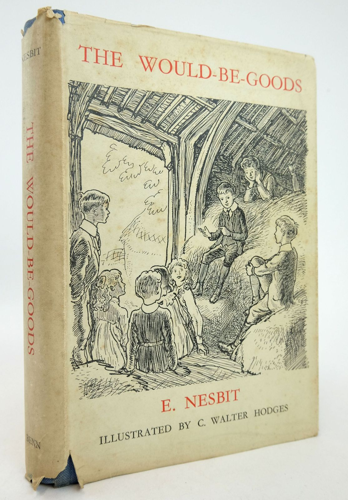 Photo of THE WOULDBEGOODS written by Nesbit, E. illustrated by Hodges, C. Walter published by Ernest Benn Limited (STOCK CODE: 1819264)  for sale by Stella & Rose's Books