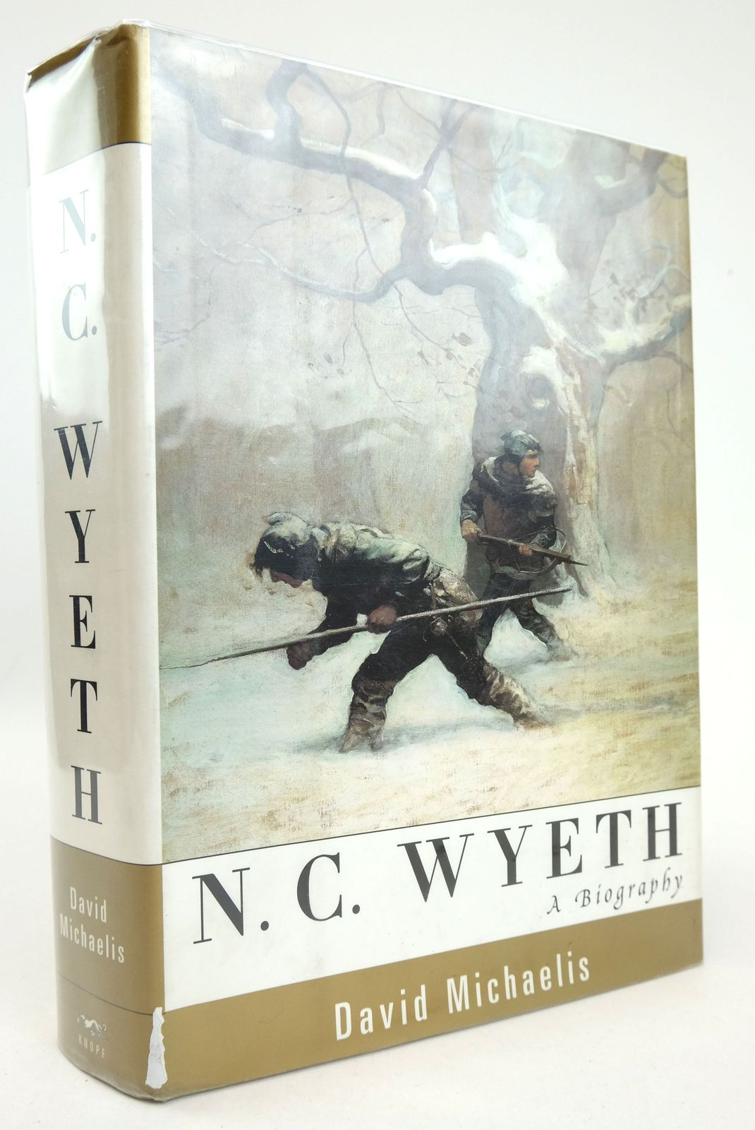 Photo of N.C. WYETH: A BIOGRAPHY written by Michaelis, David illustrated by Wyeth, N.C. published by Alfred A. Knopf (STOCK CODE: 1819269)  for sale by Stella & Rose's Books