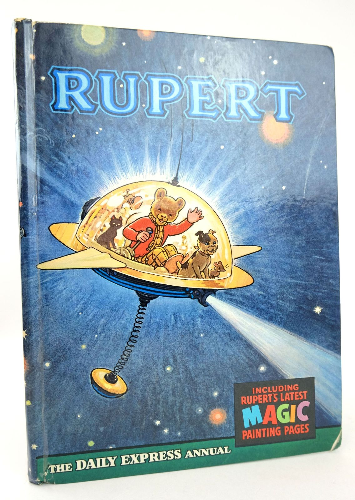 Photo of RUPERT ANNUAL 1966 written by Bestall, Alfred illustrated by Bestall, Alfred published by Daily Express (STOCK CODE: 1819281)  for sale by Stella & Rose's Books