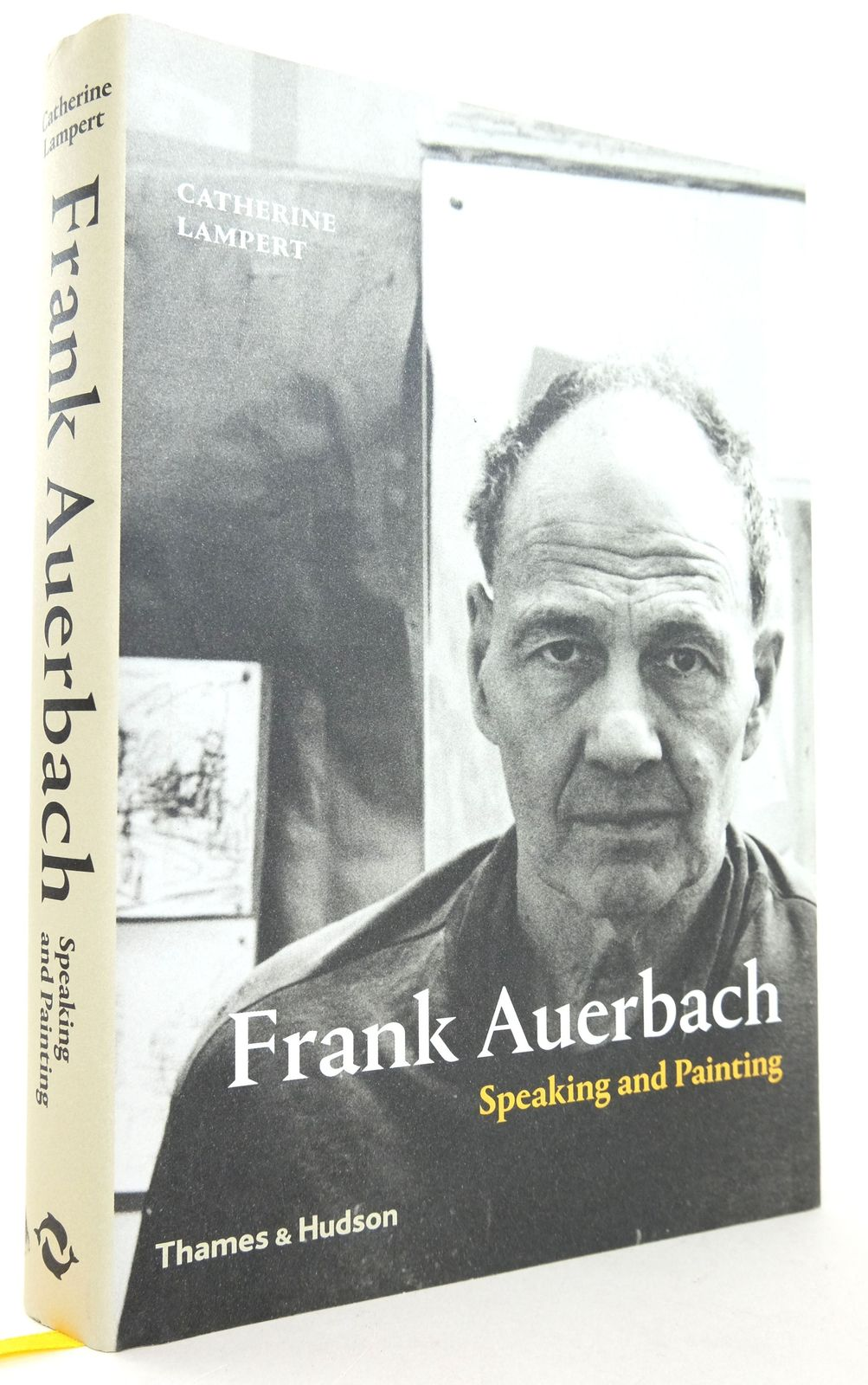 Photo of FRANK AUERBACH: SPEAKING AND PAINTING written by Lampert, Catherine illustrated by Auerbach, Frank published by Thames and Hudson (STOCK CODE: 1819297)  for sale by Stella & Rose's Books