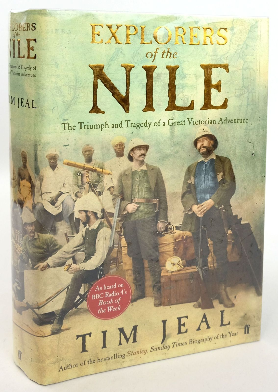 Photo of EXPLORERS OF THE NILE: THE TRIUMPH AND TRAGEDY OF A GREAT VICTORIAN ADVENTURE- Stock Number: 1819301